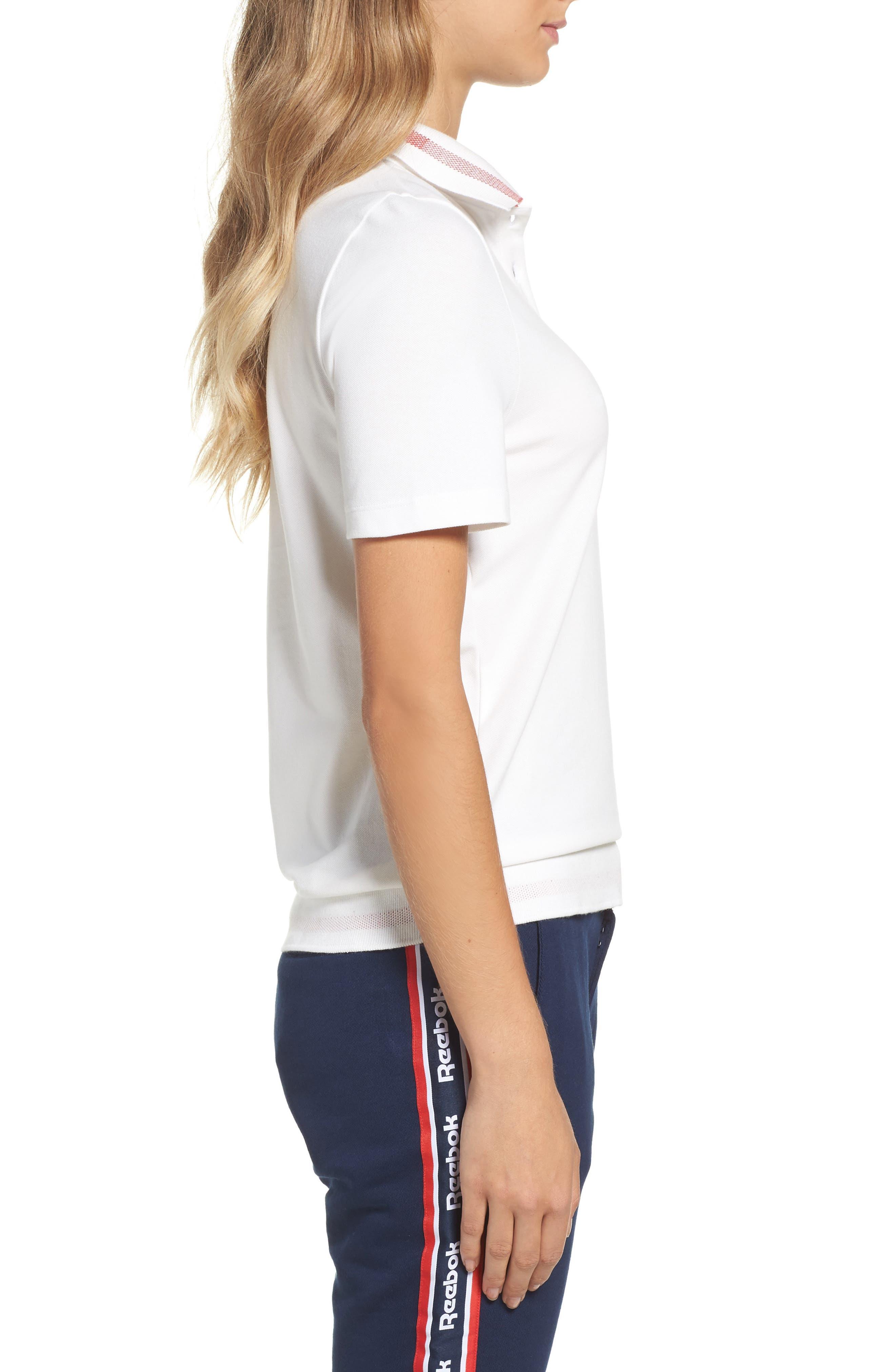 Alternate Image 3  - Reebok Piqué Polo Shirt