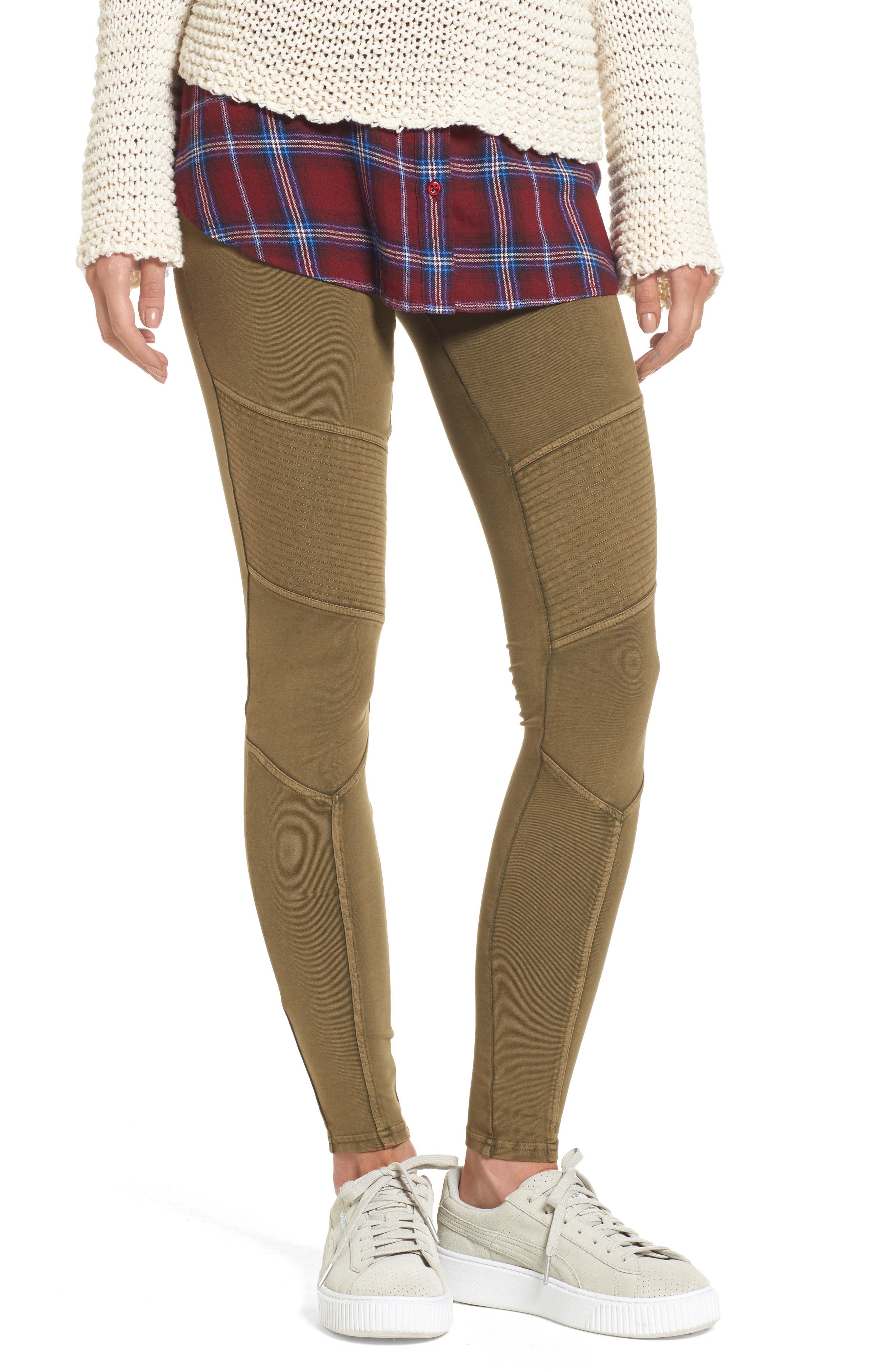BP. Seamed Moto Leggings