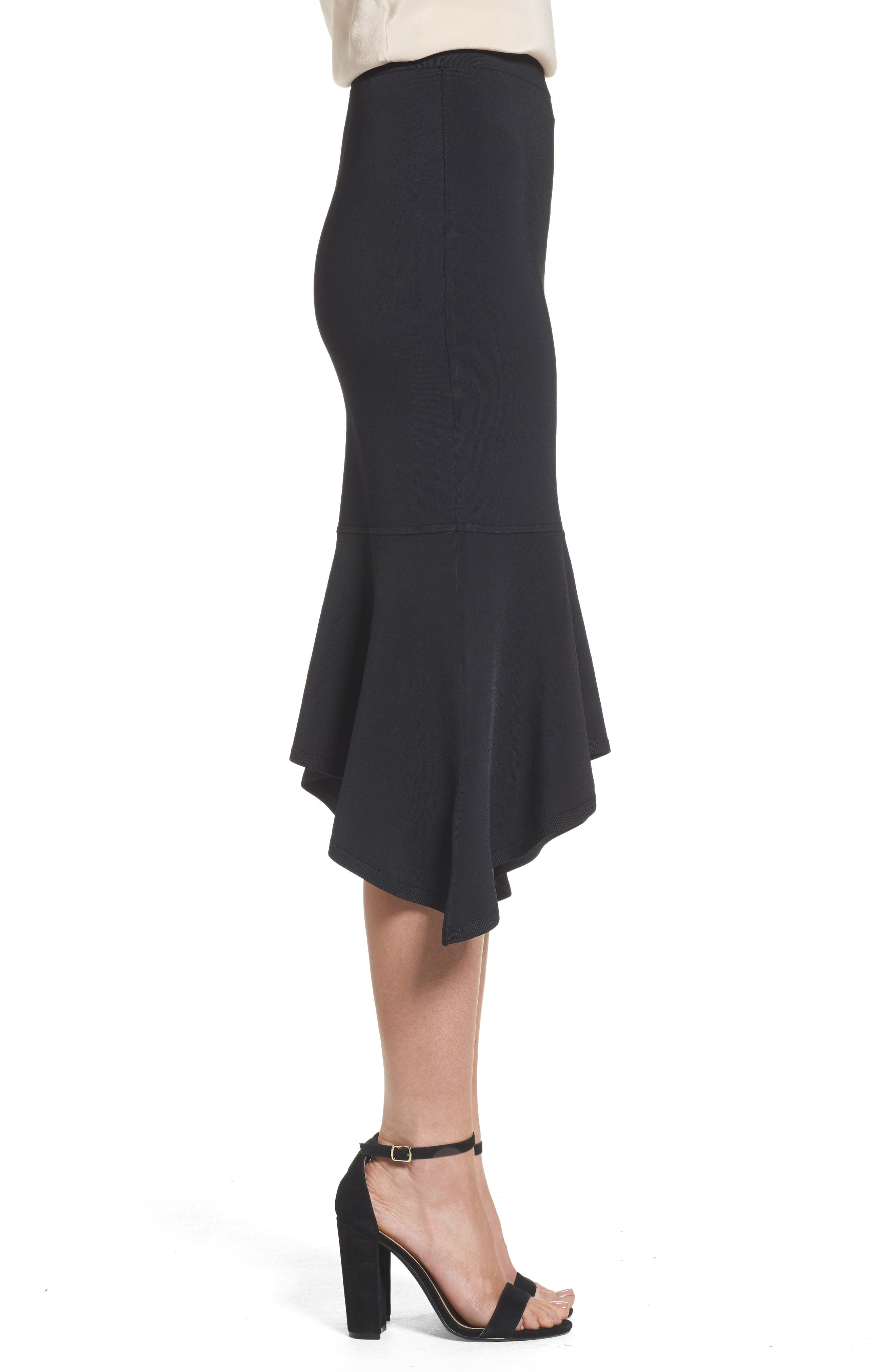 Alternate Image 3  - Trouvé Asymmetrical Midi Skirt