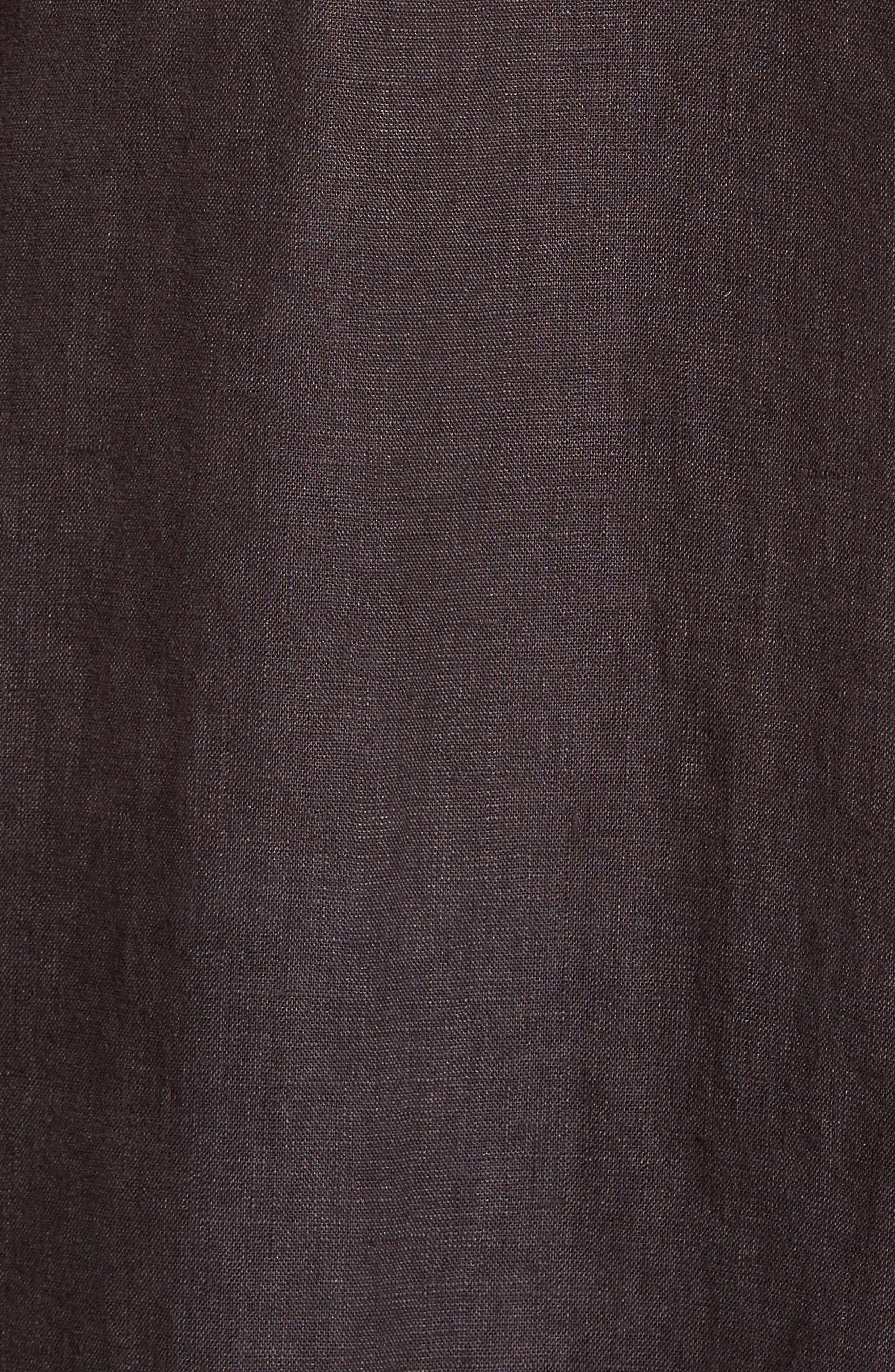 Alternate Image 6  - Theory Clark Trim Fit Linen Sport Shirt