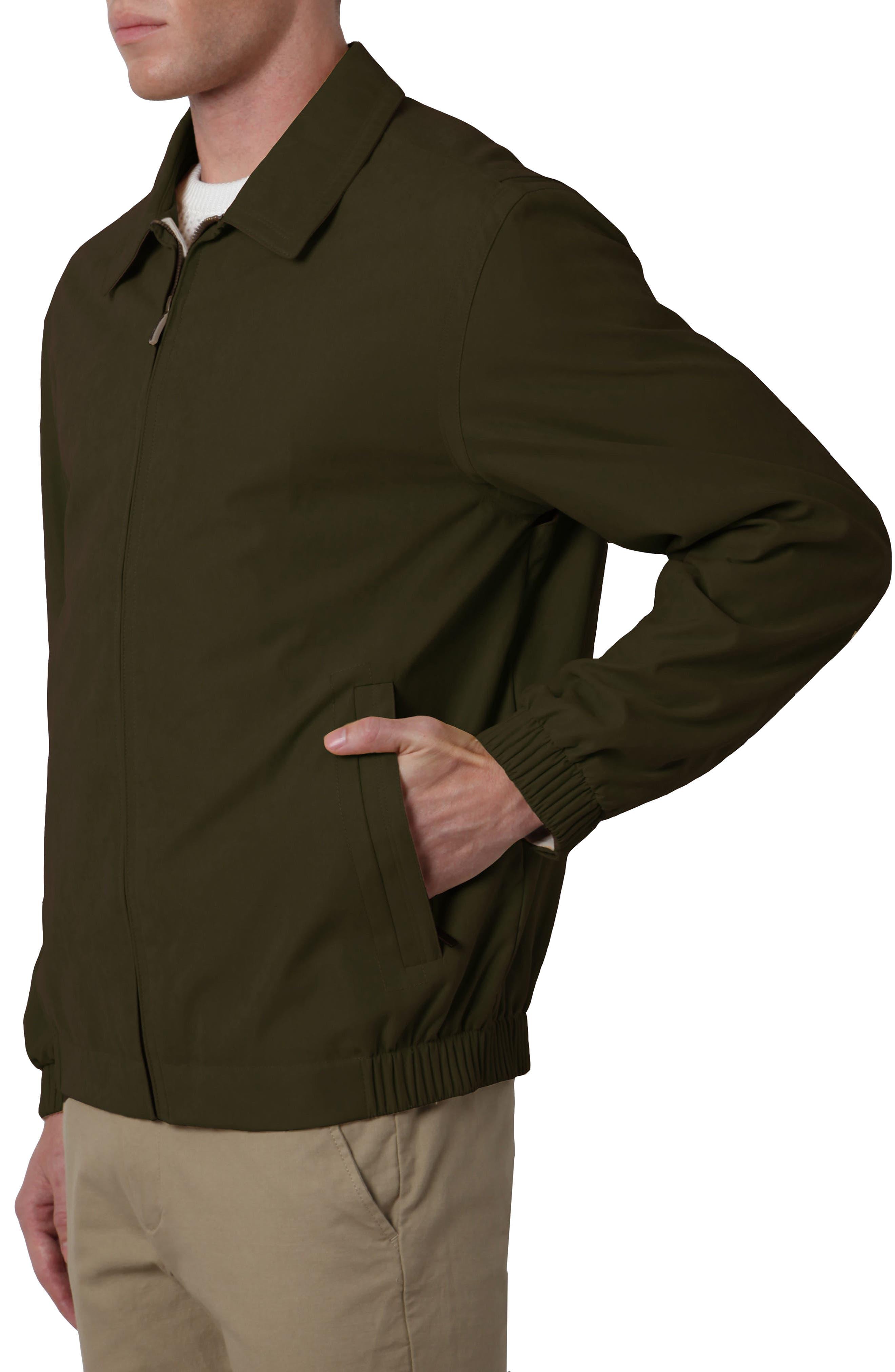 'Microseta' Lightweight Golf Jacket,                             Alternate thumbnail 3, color,                             Oregano