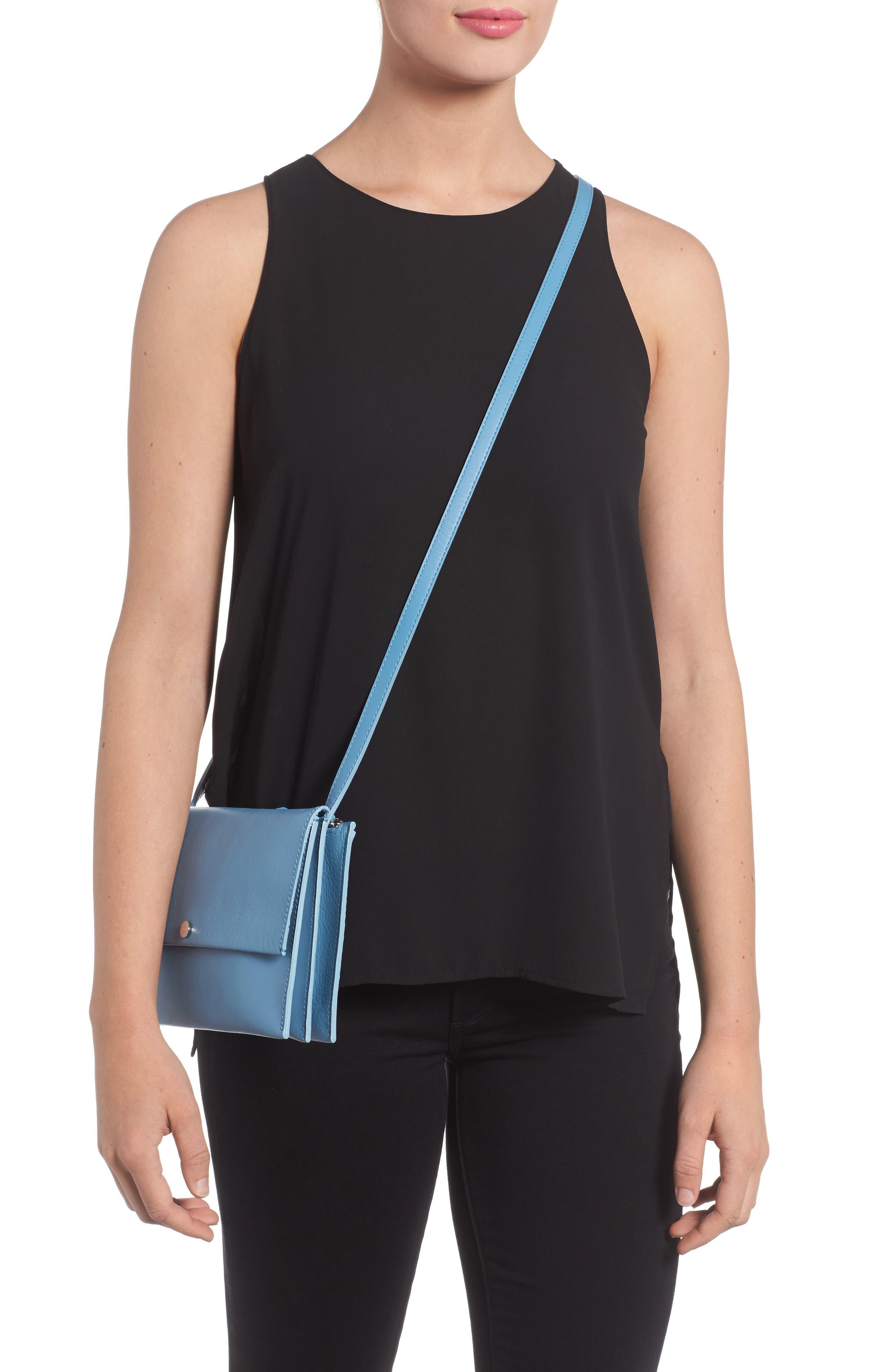 Alternate Image 2  - Shinola Crossbody Leather Bag