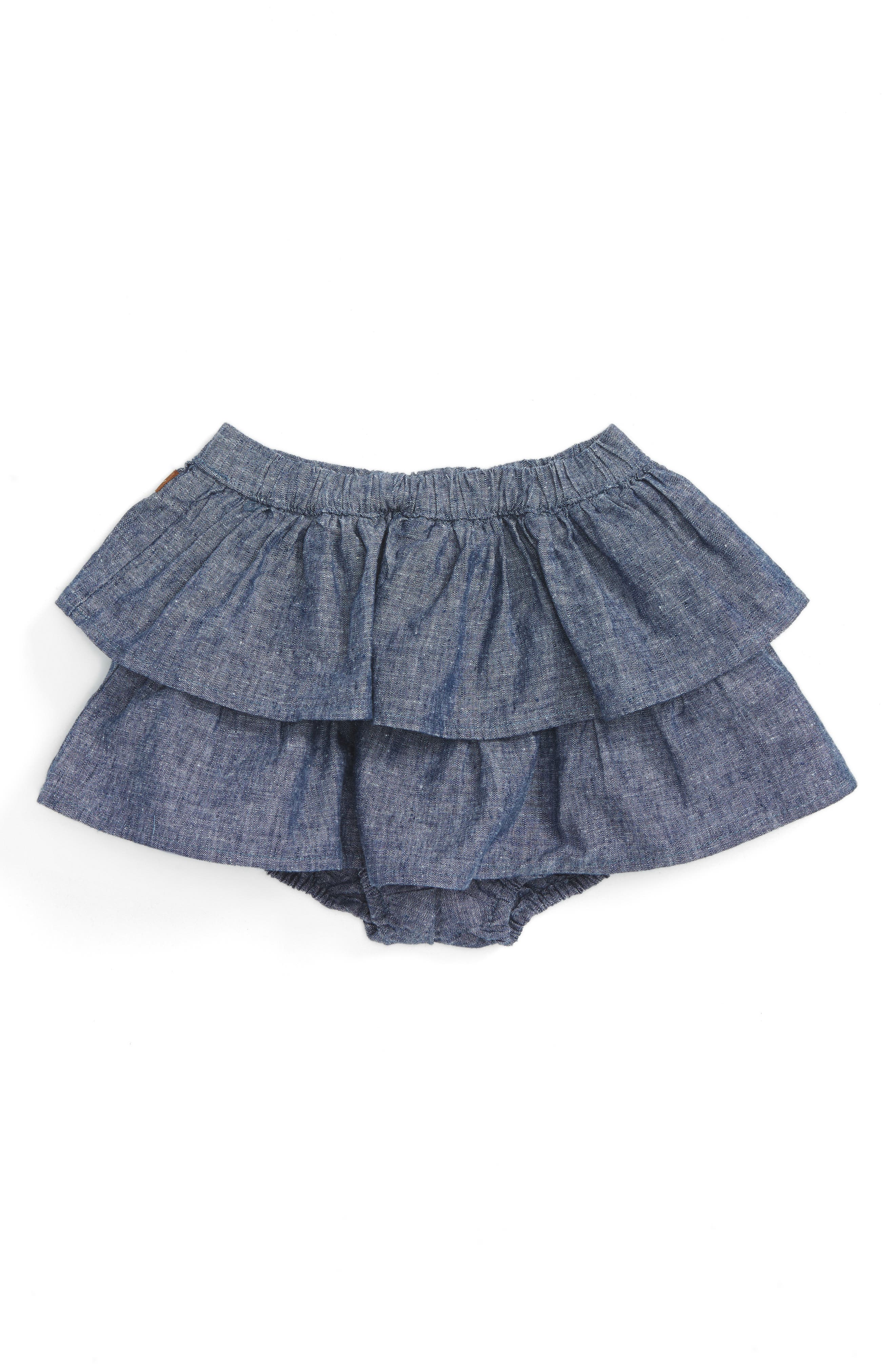 Tea Collection Citizen Ruffle Bloomers (Toddler Girls)