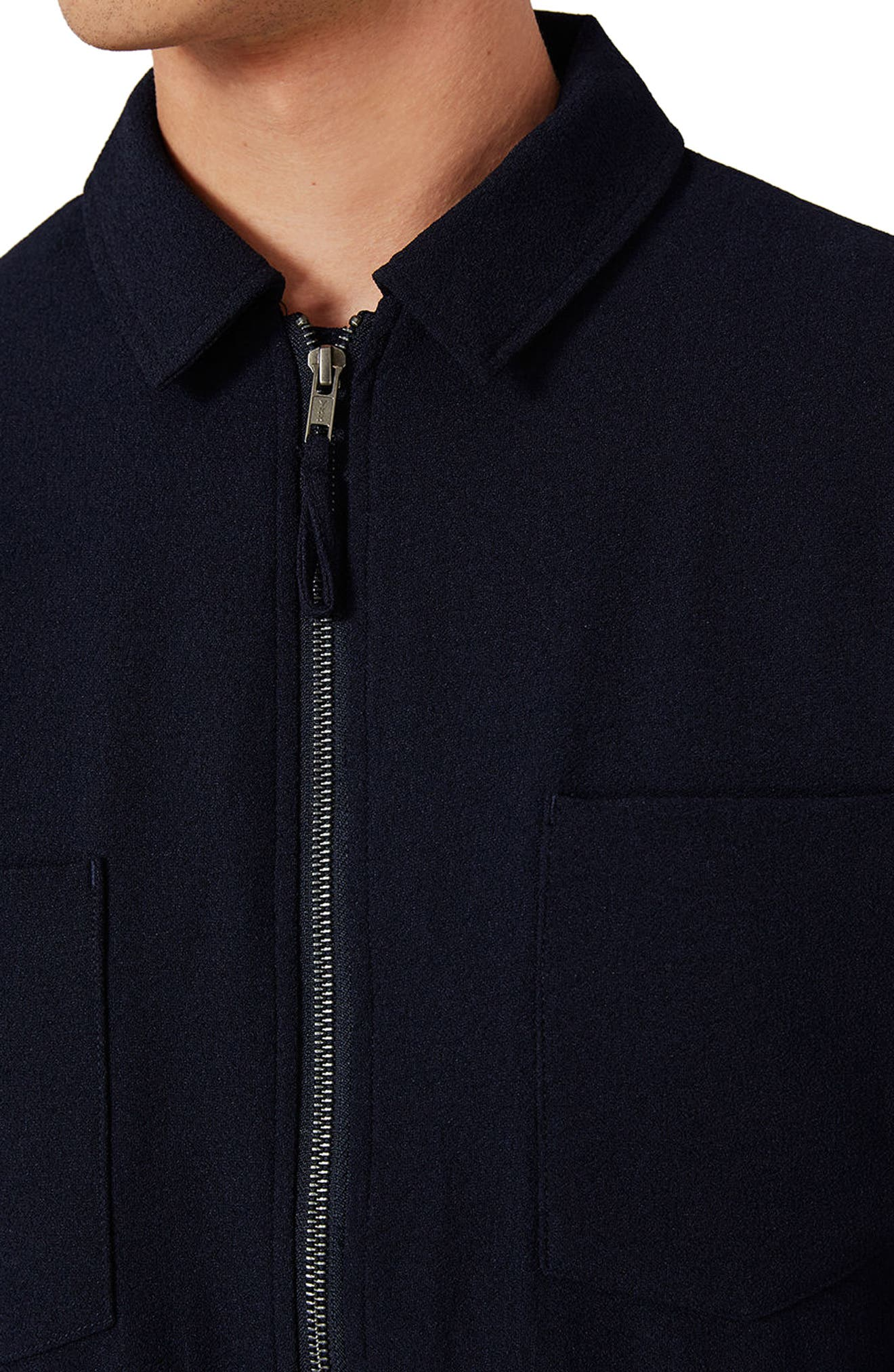 Lightweight Smart Jacket,                             Alternate thumbnail 5, color,                             Navy Blue