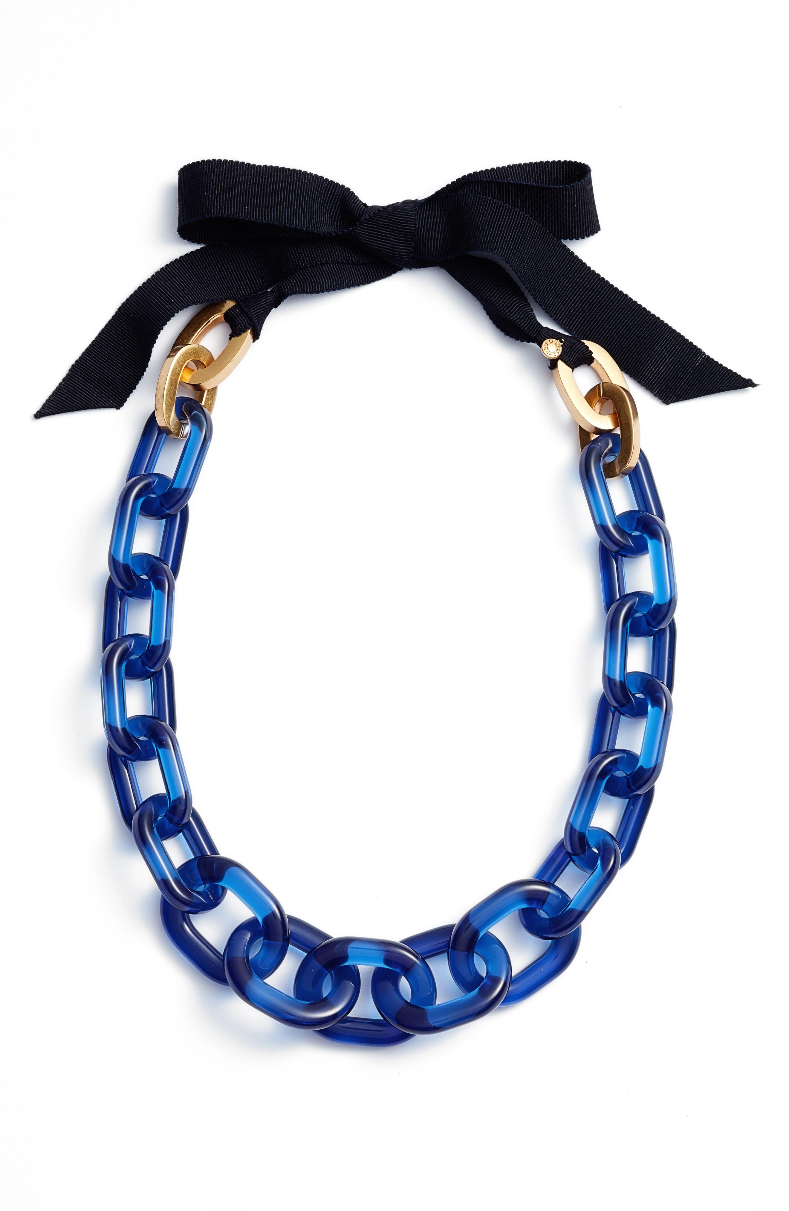 J.Crew Lucite® Link Necklace
