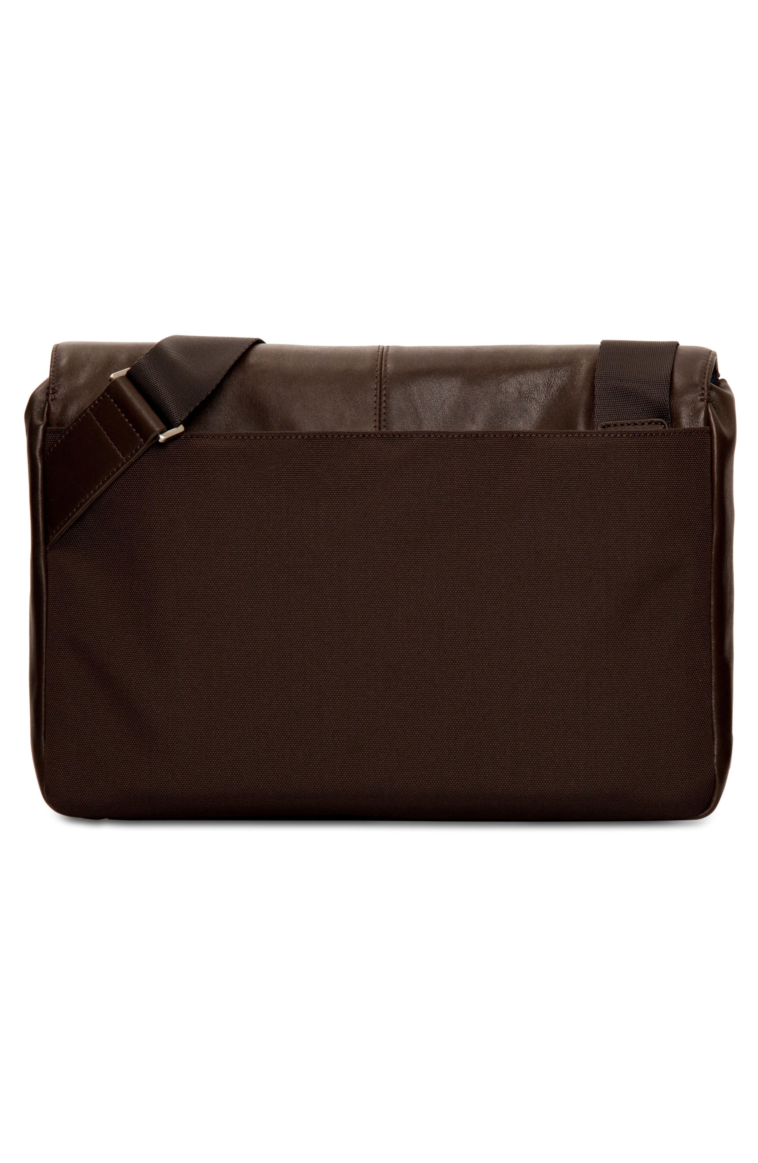 Alternate Image 2  - KNOMO London Brompton Kinsale RFID Leather Messenger Bag