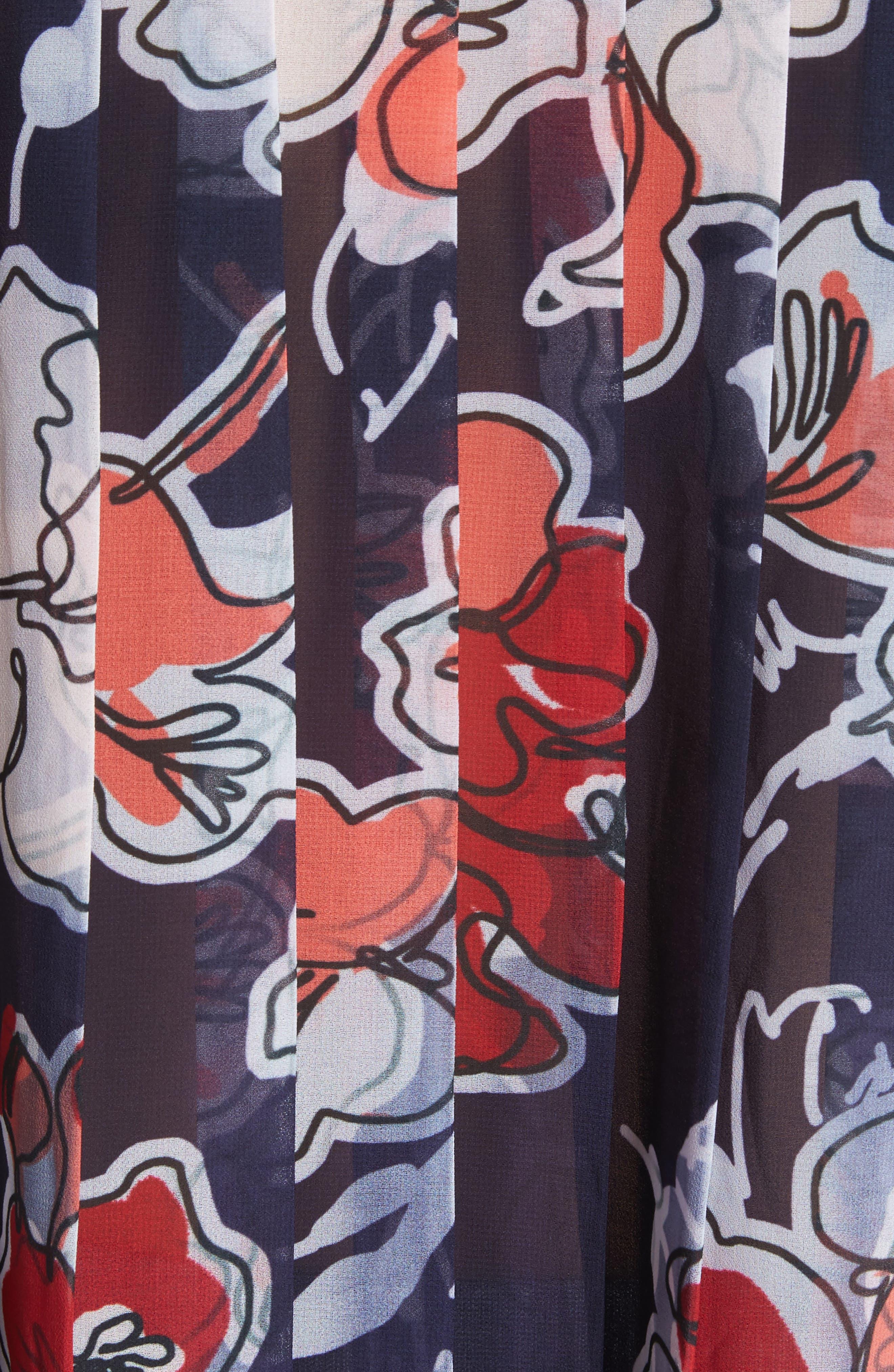 Alternate Image 5  - GREY Jason Wu Pleated Back Combo Sweater