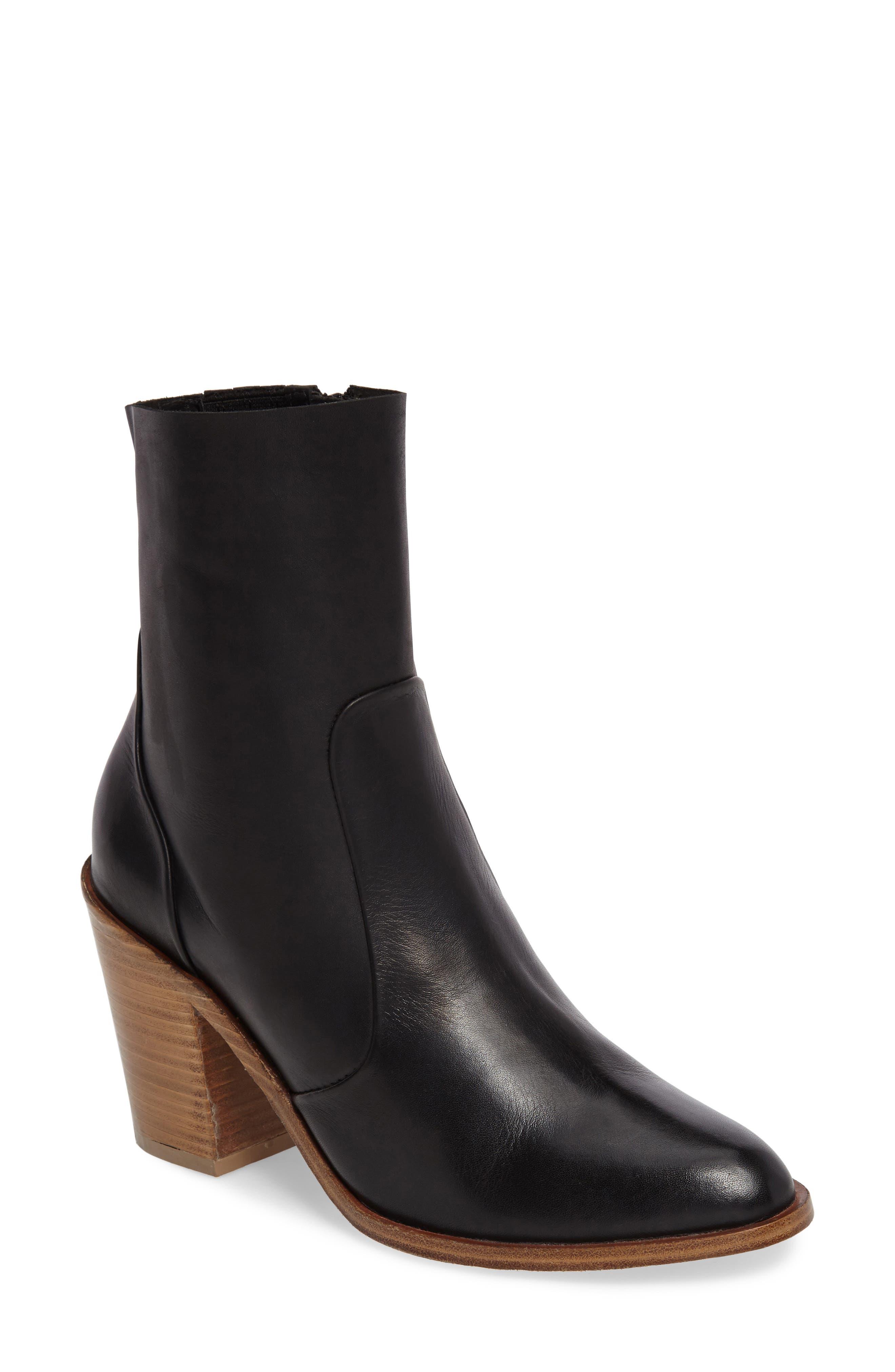 Jeffrey Campbell Ansari Block Heel Bootie (Women)