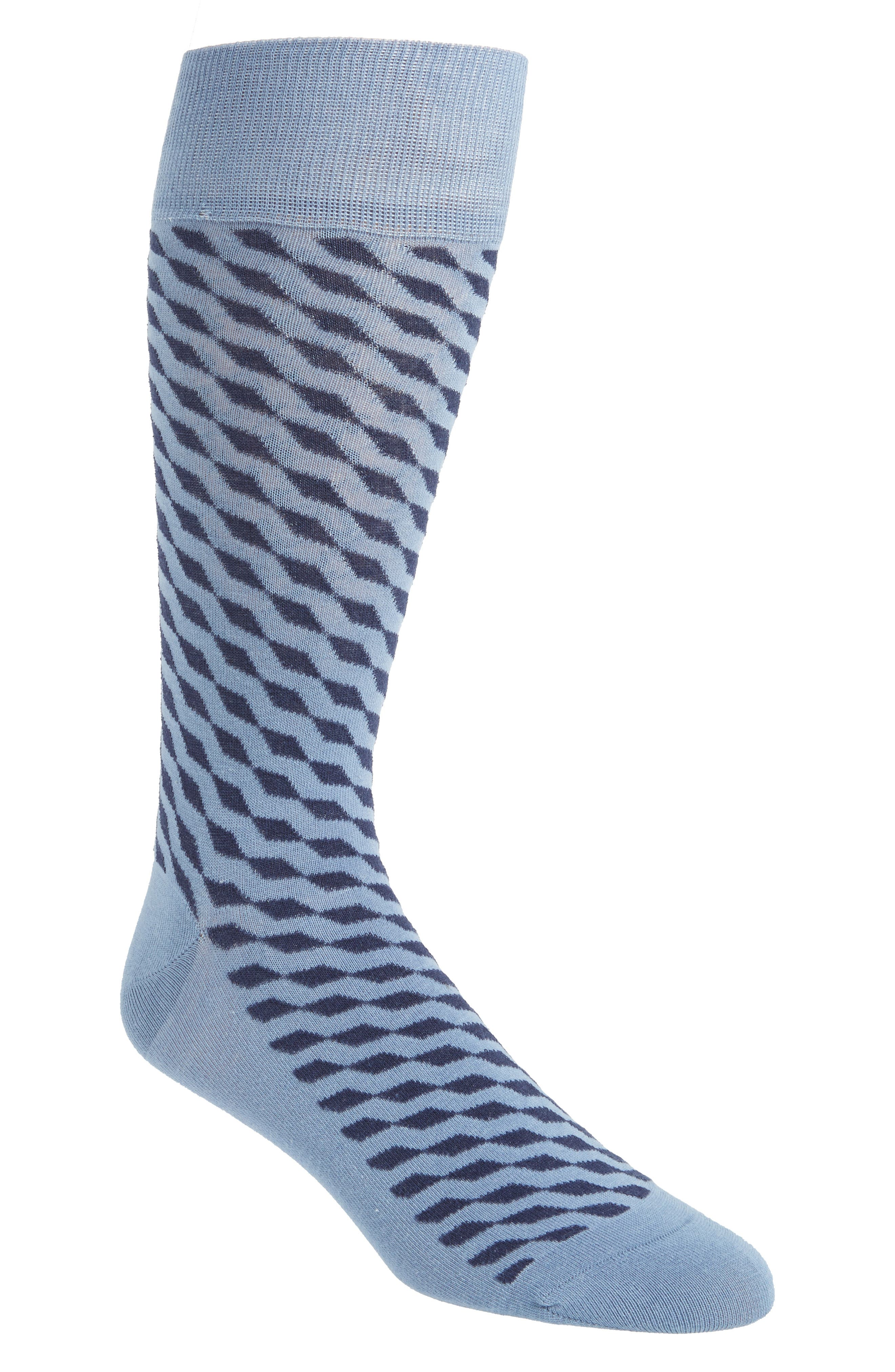 Cole Haan Diagonal Cube Socks (3 for $30)