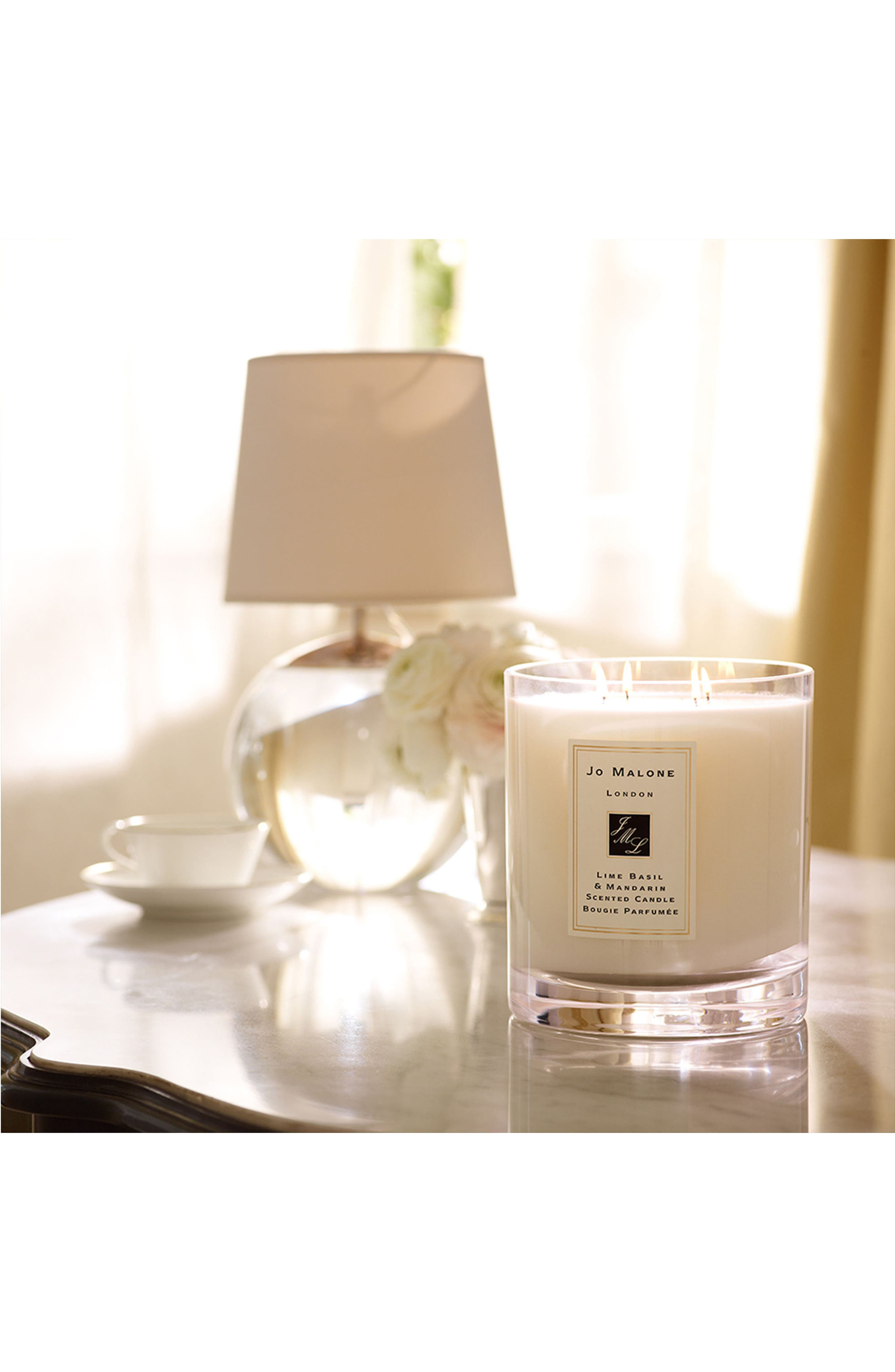 Jo Malone<sup>™</sup> 'Lime Basil & Mandarin' Luxury Candle,                             Alternate thumbnail 6, color,                             No Color