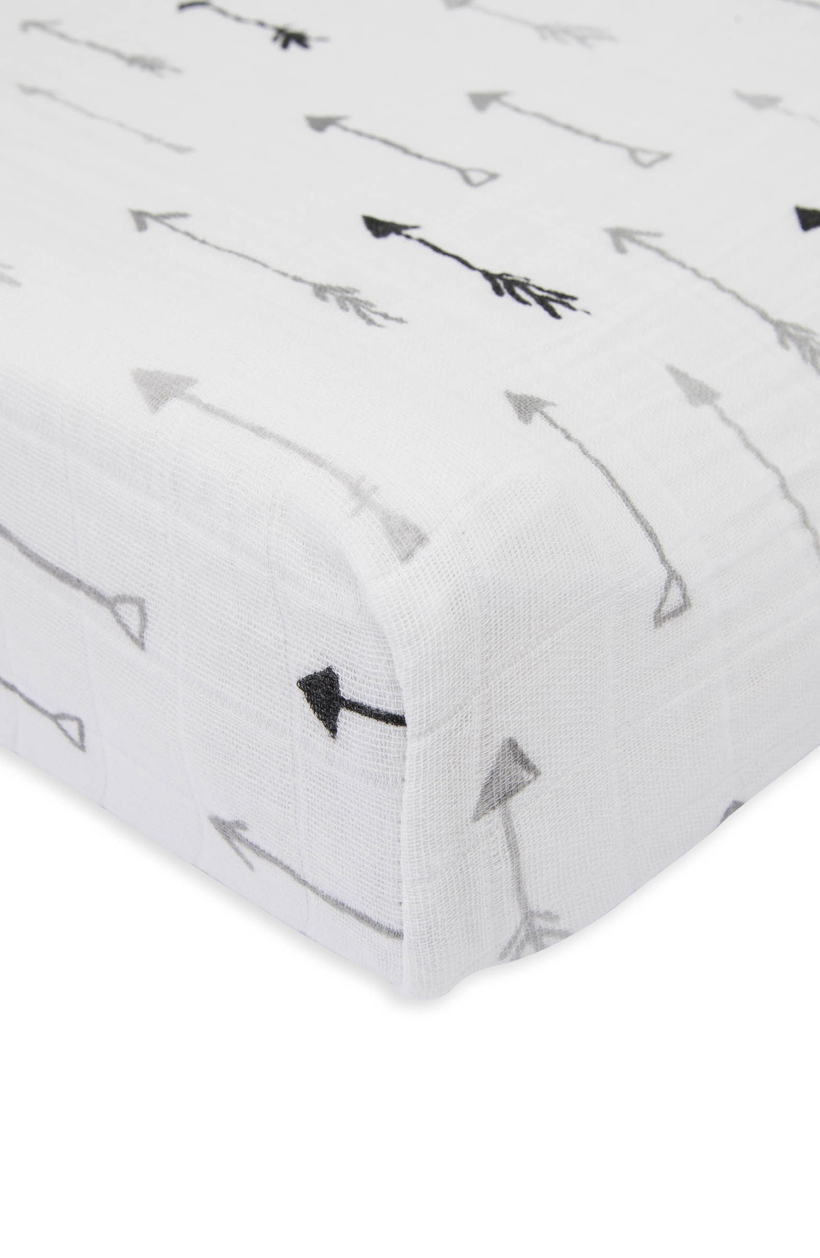 Alternate Image 2  - little unicorn Cotton Muslin Changing Pad Cover