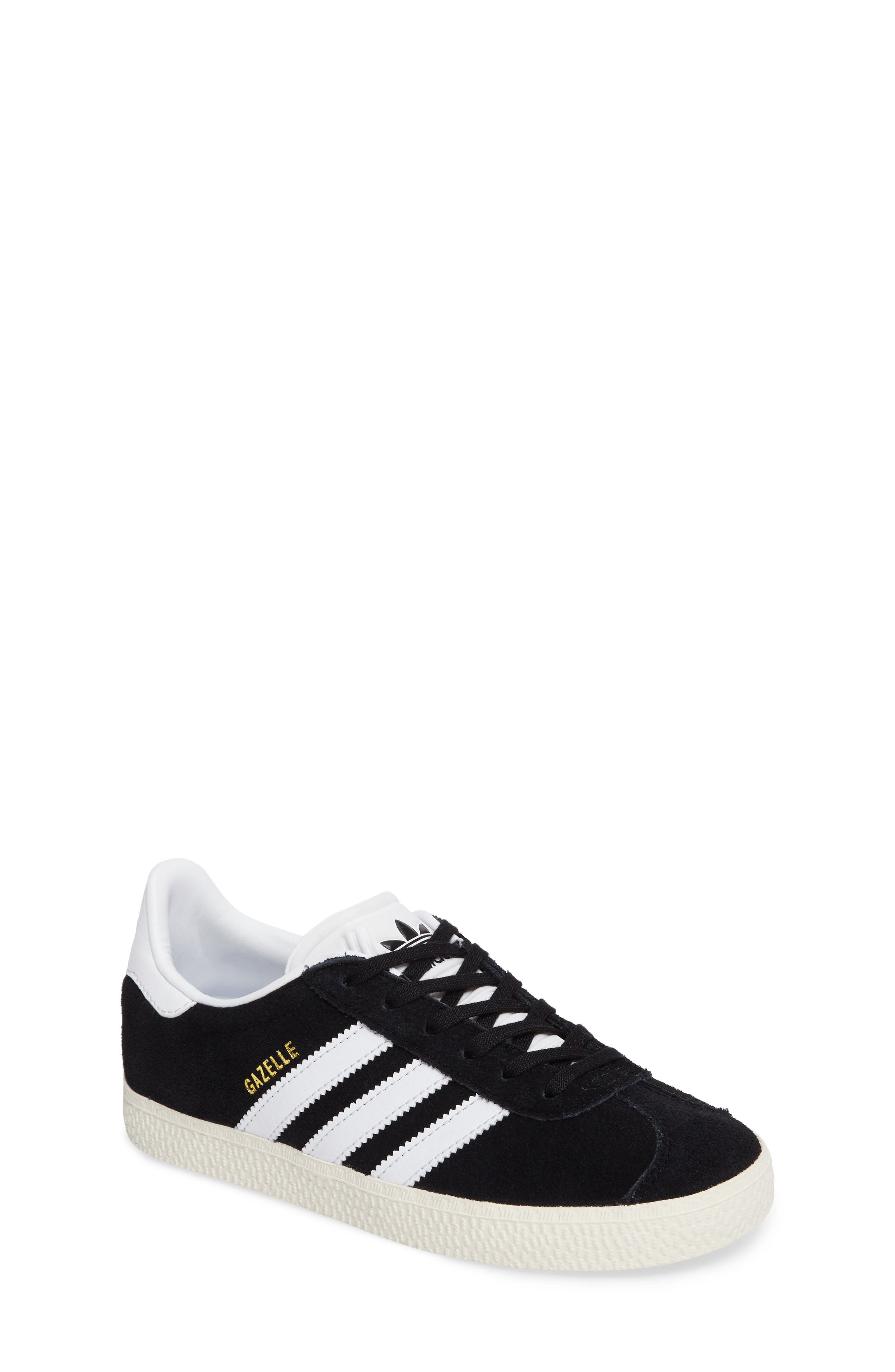 adidas shoes for girls black. adidas gazelle sneaker (toddler, little kid \u0026 big shoes for girls black o