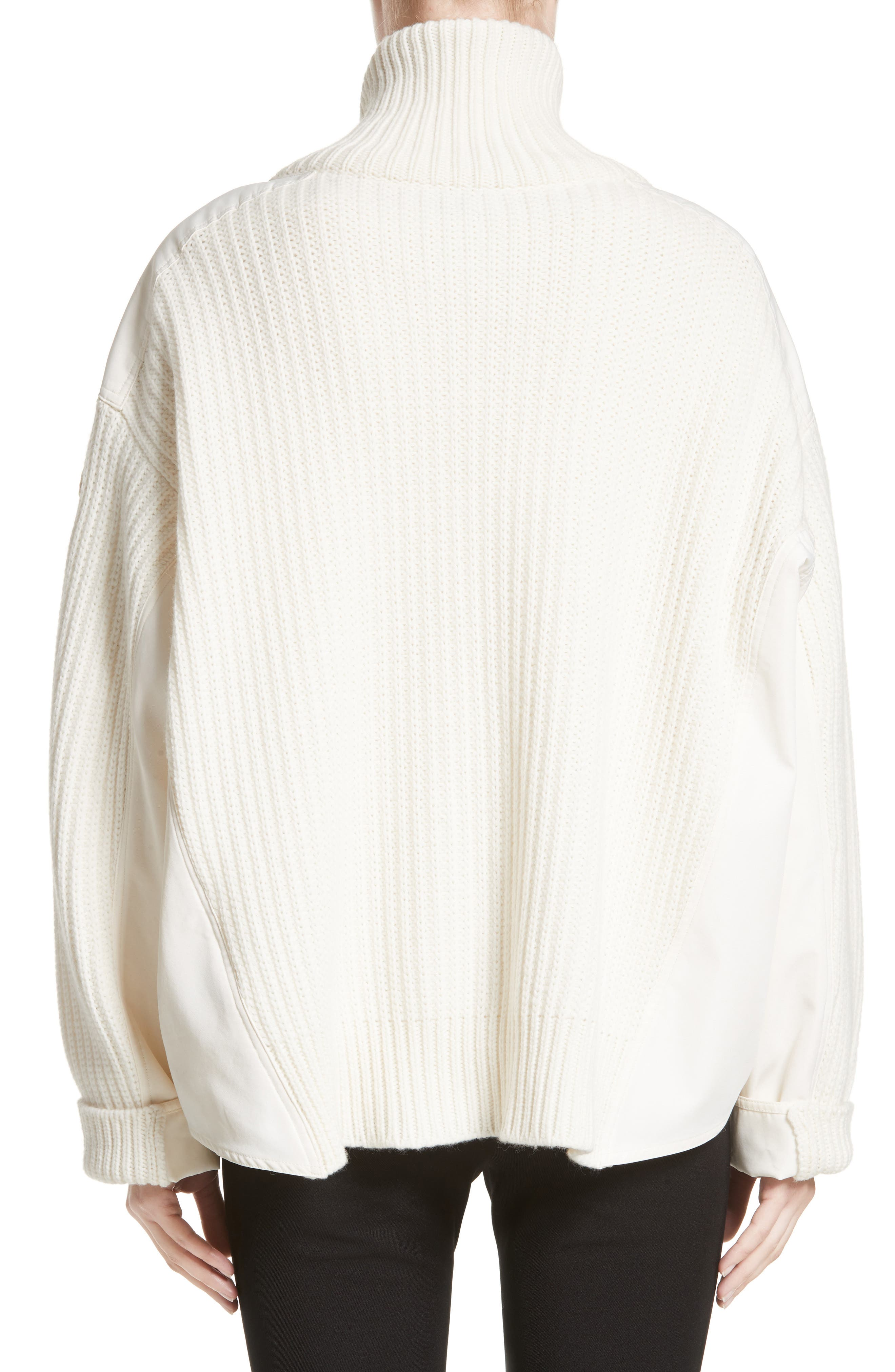Wool & Cashmere Cardigan,                             Alternate thumbnail 2, color,                             White