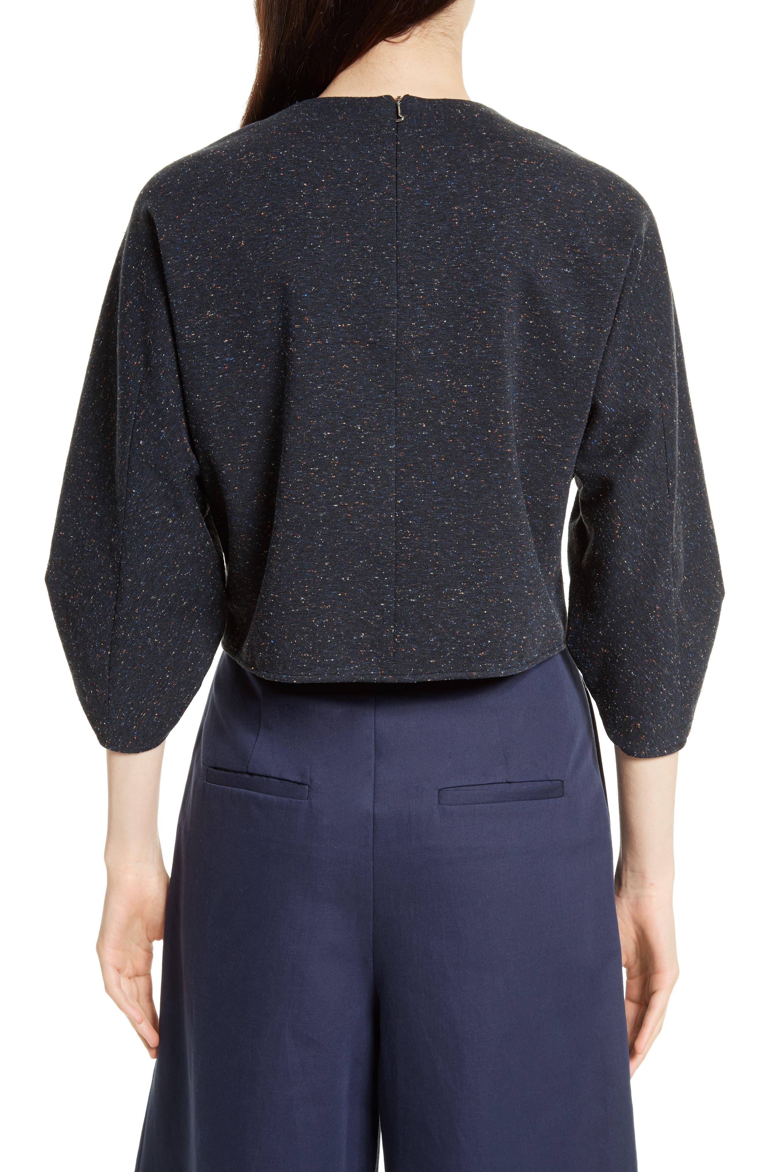 Alternate Image 4  - Tibi Imogen Tweed Top