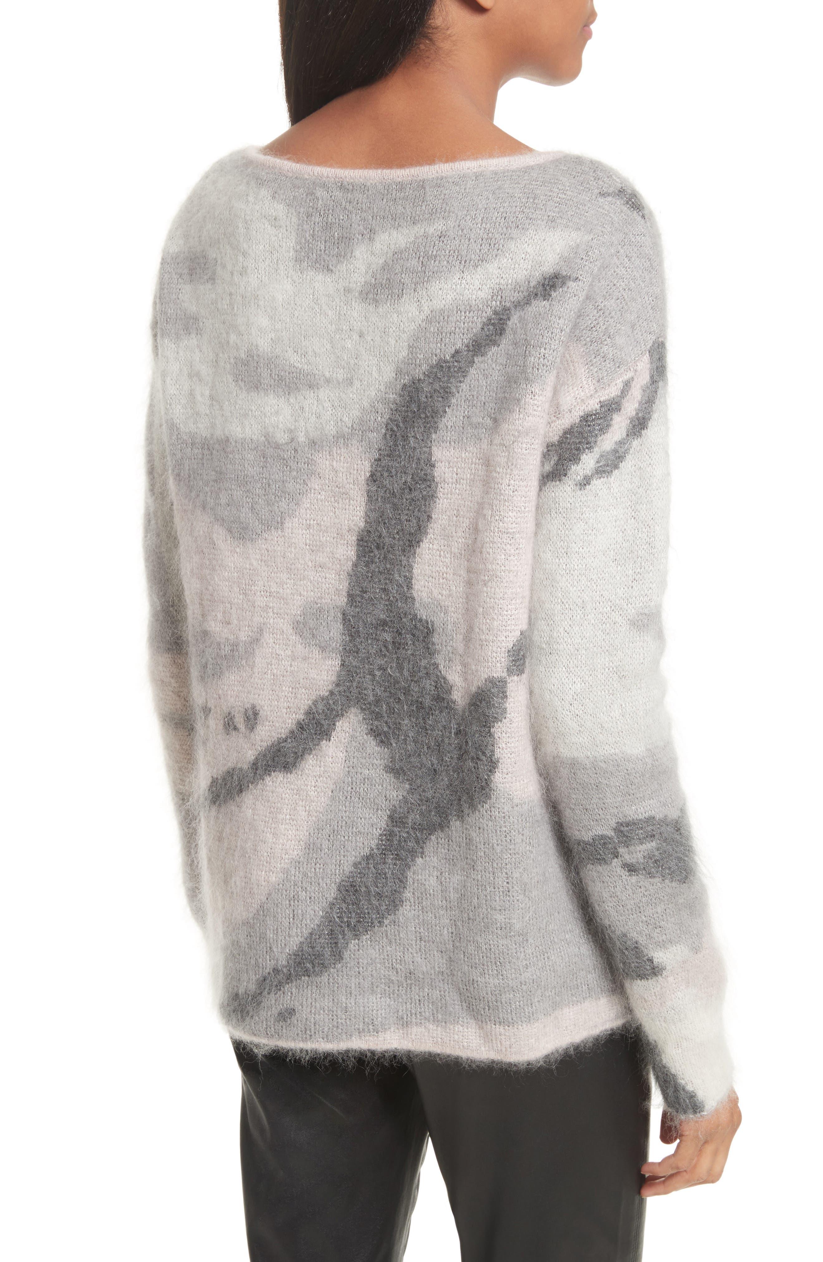 Alternate Image 3  - rag & bone Sinclair Camouflage Jacquard Sweater