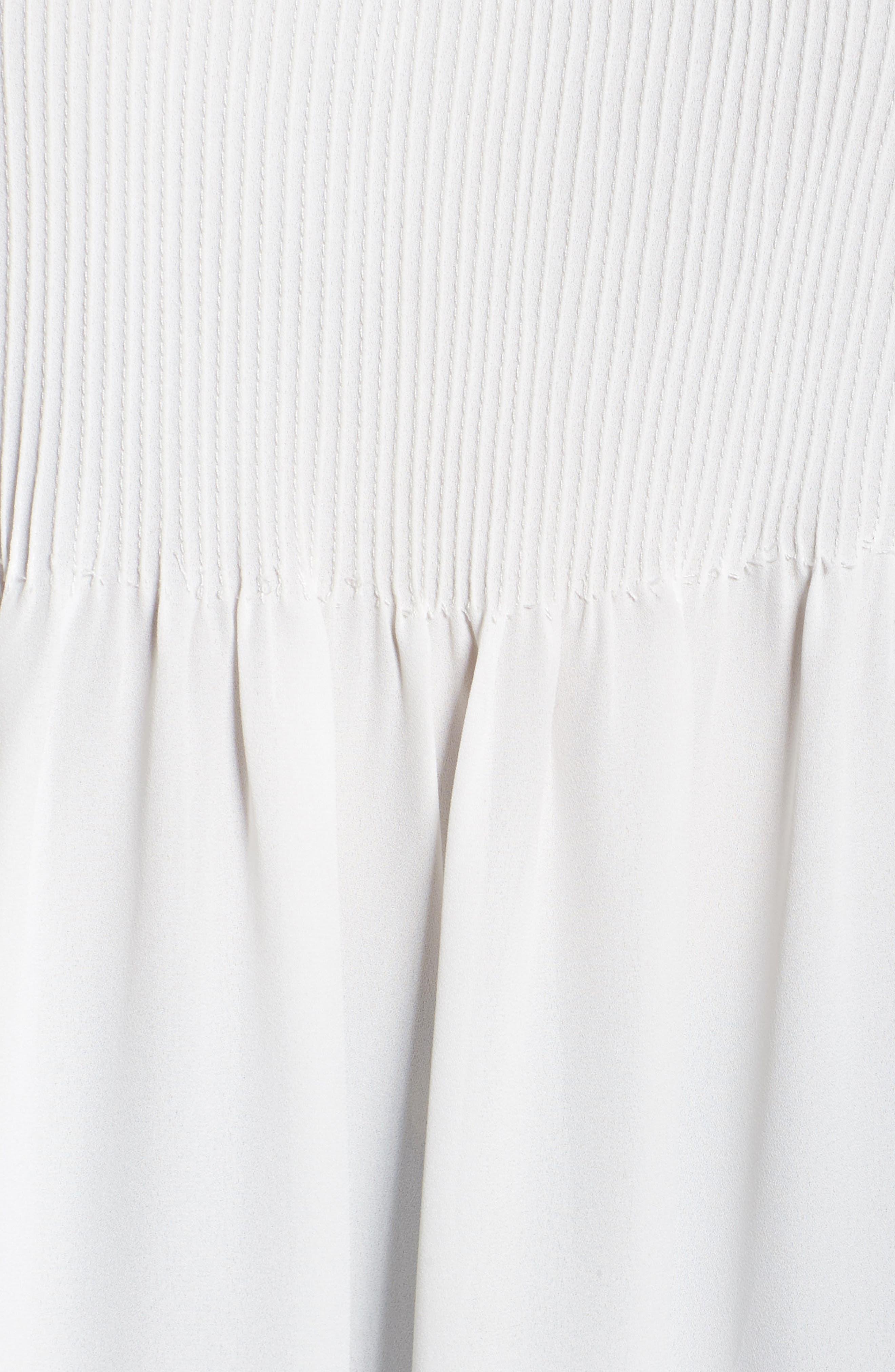 Alternate Image 5  - Sejour Pintuck Blouse (Plus Size)