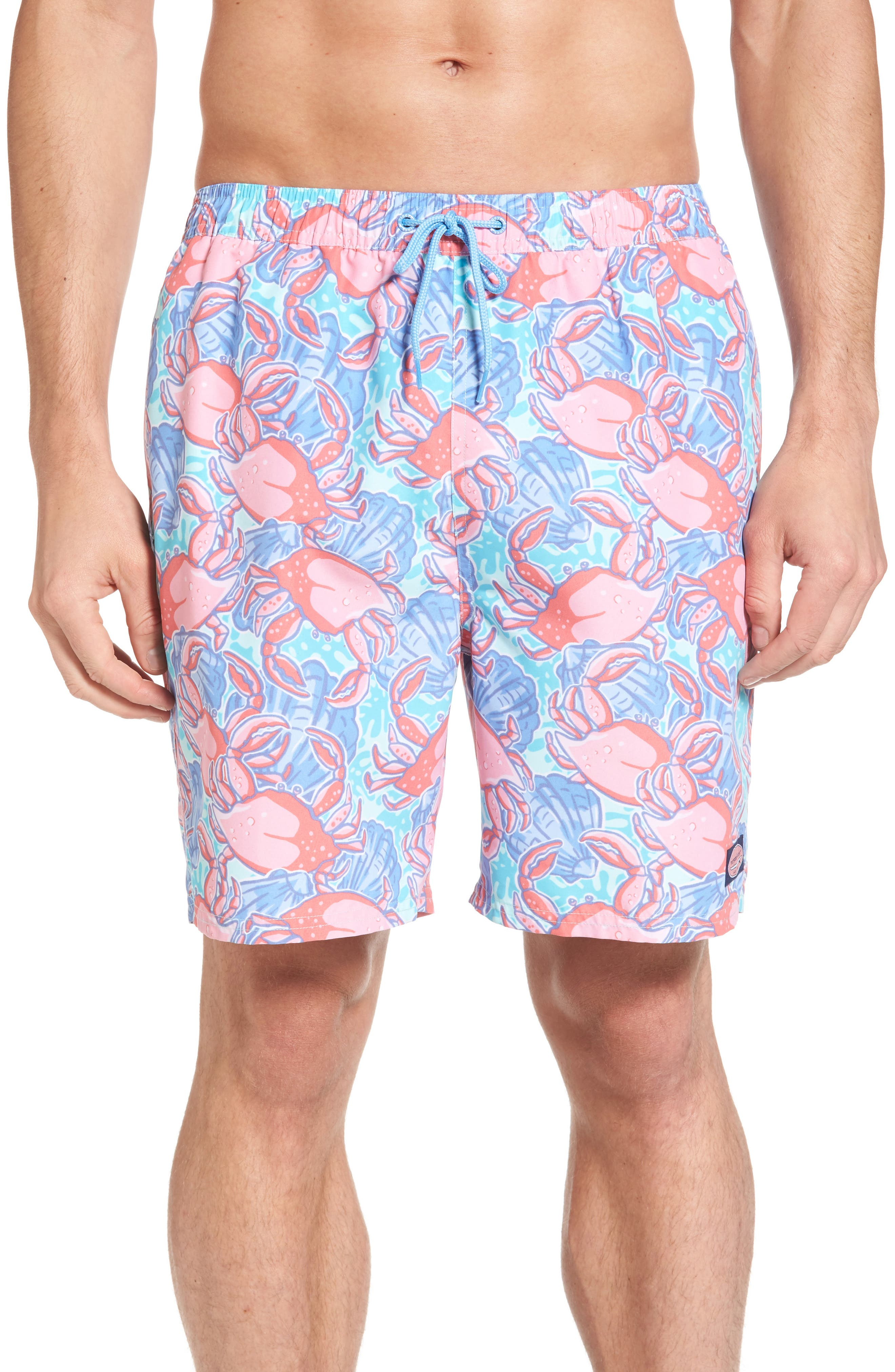 Vineyard Vines Crab Shell Chappy Swim Trunks