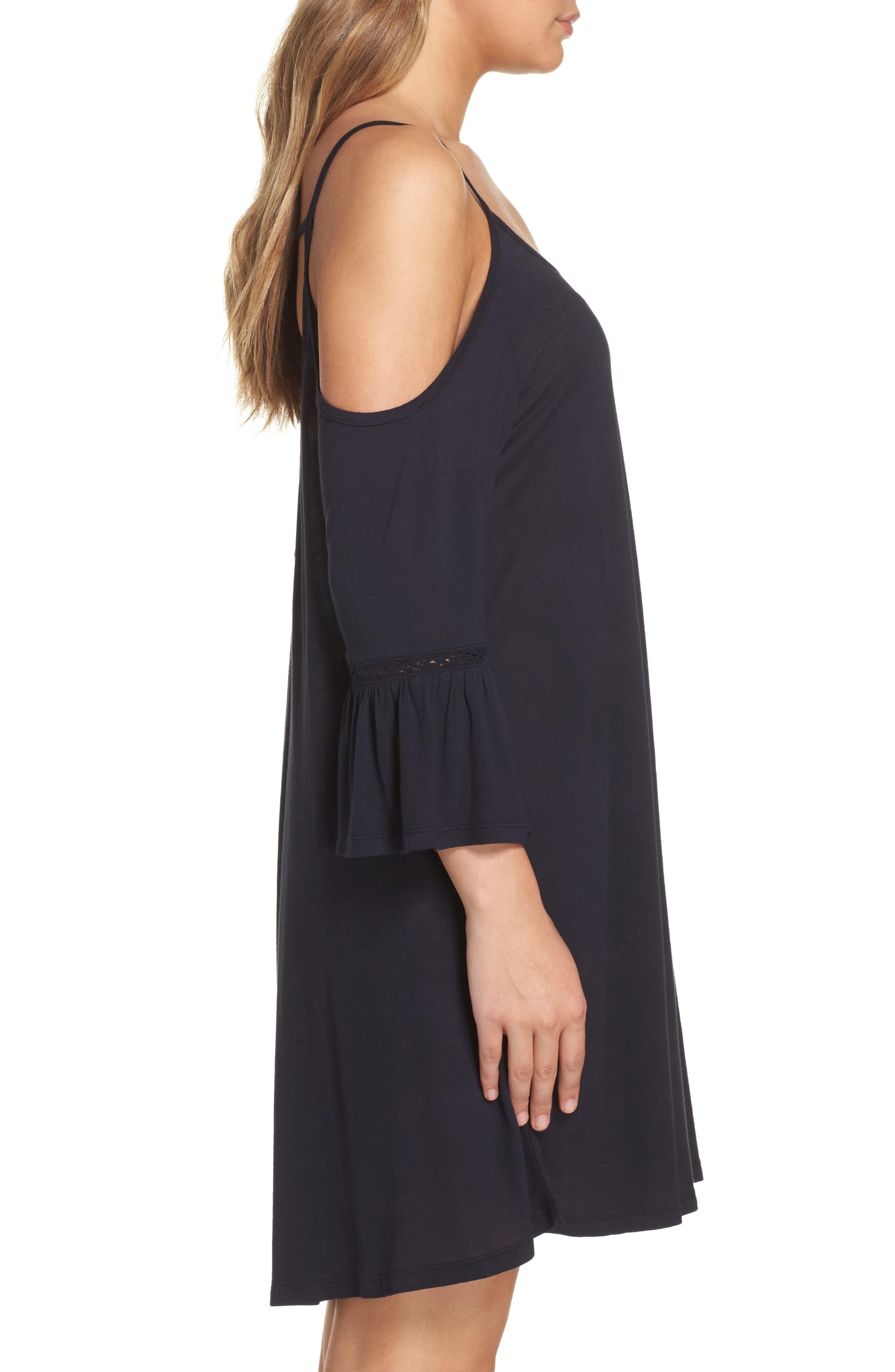 Alternate Image 3  - Leith Cold Shoulder Cover-Up Dress