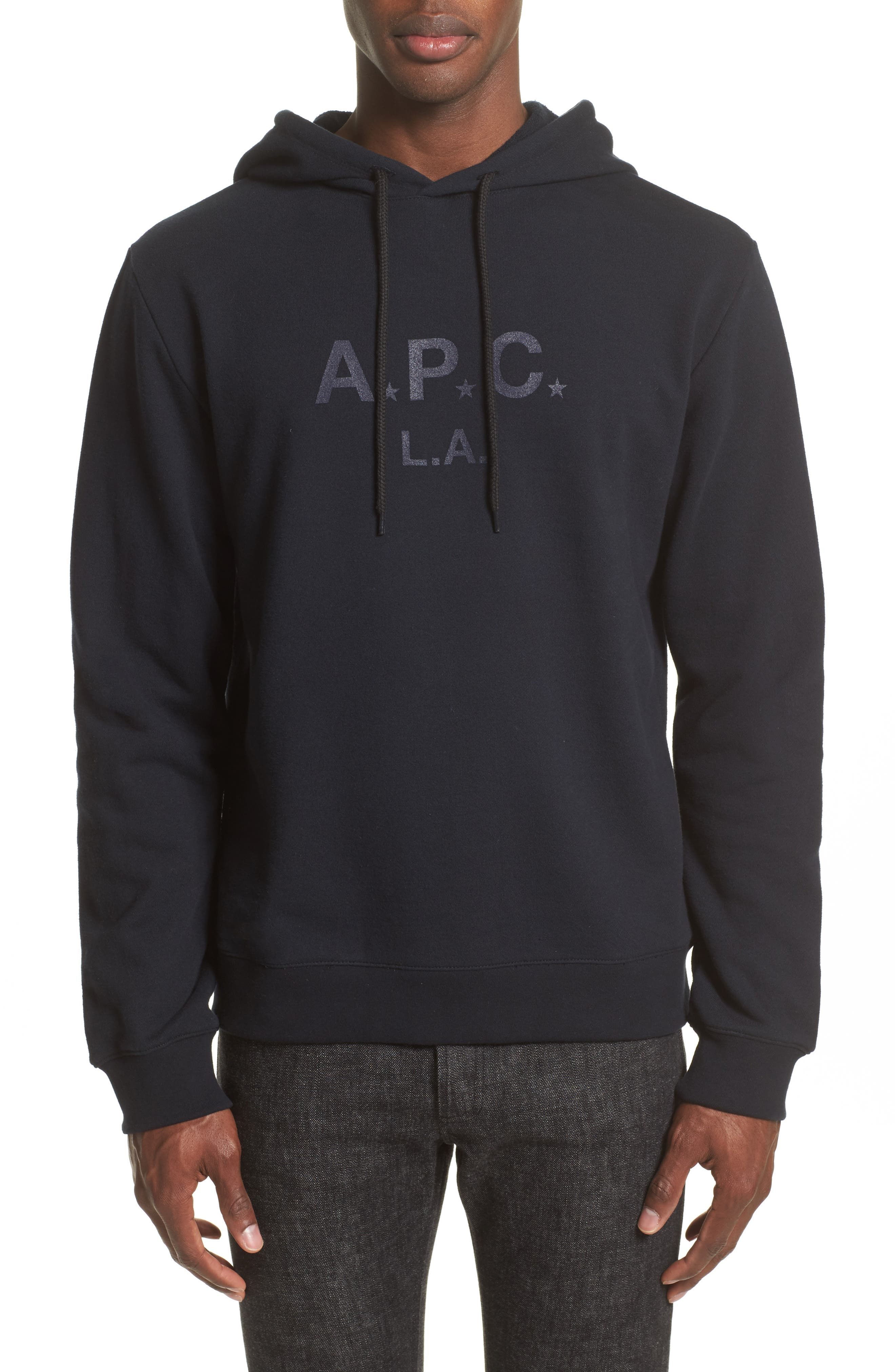 A.P.C. Logo Graphic Hoodie
