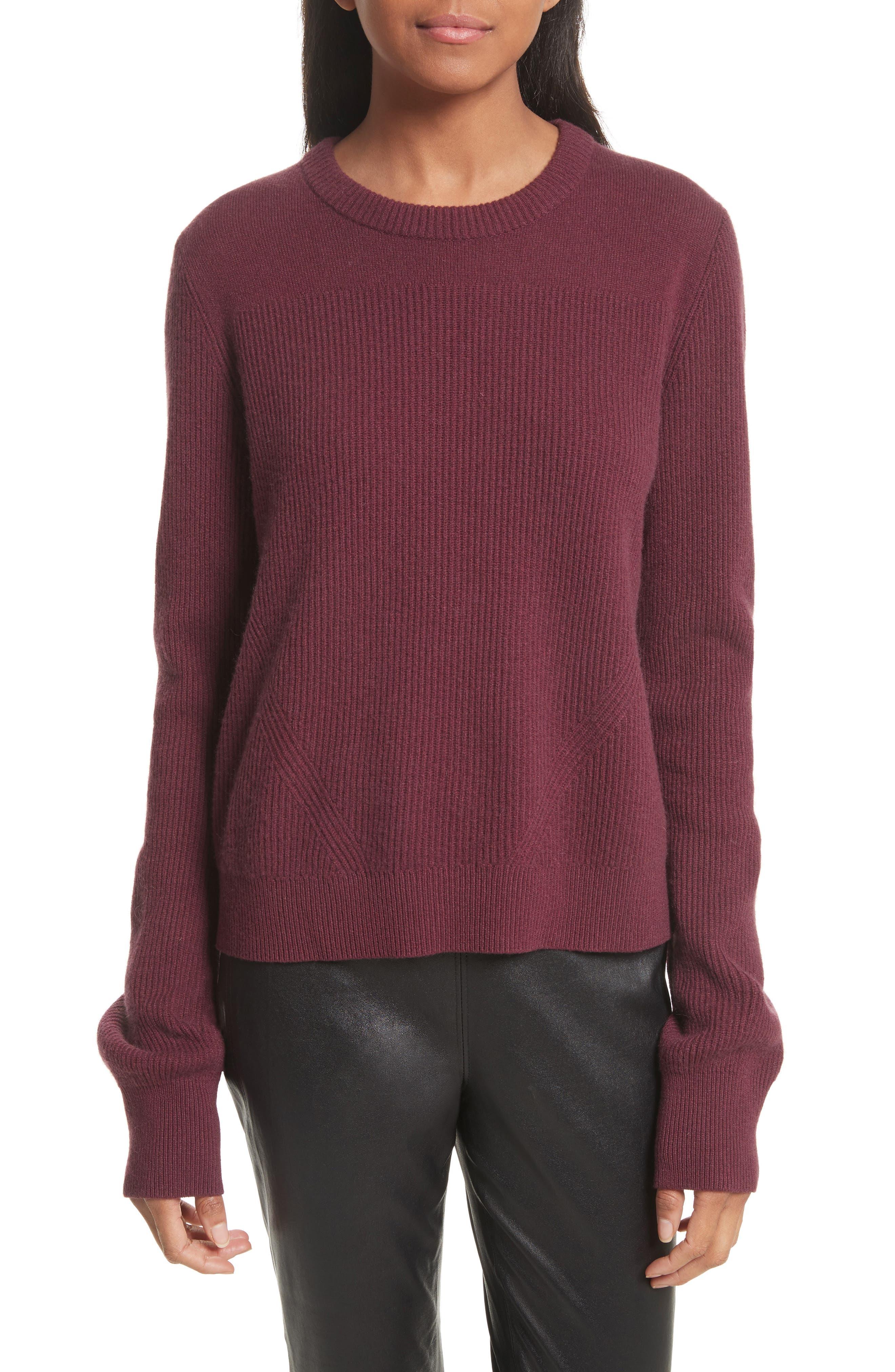 Main Image - rag & bone Ace Cashmere Crop Sweater