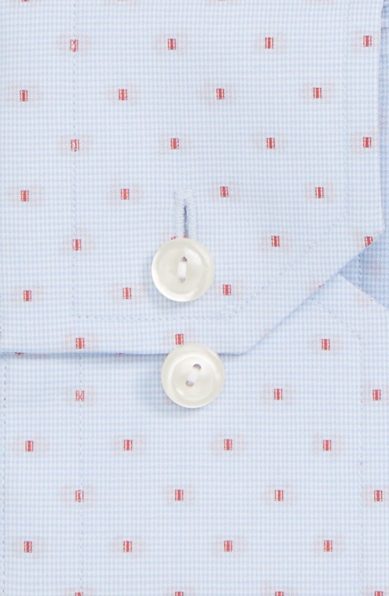 Alternate Image 2  - Eton Contemporary Fit Dot Dress Shirt