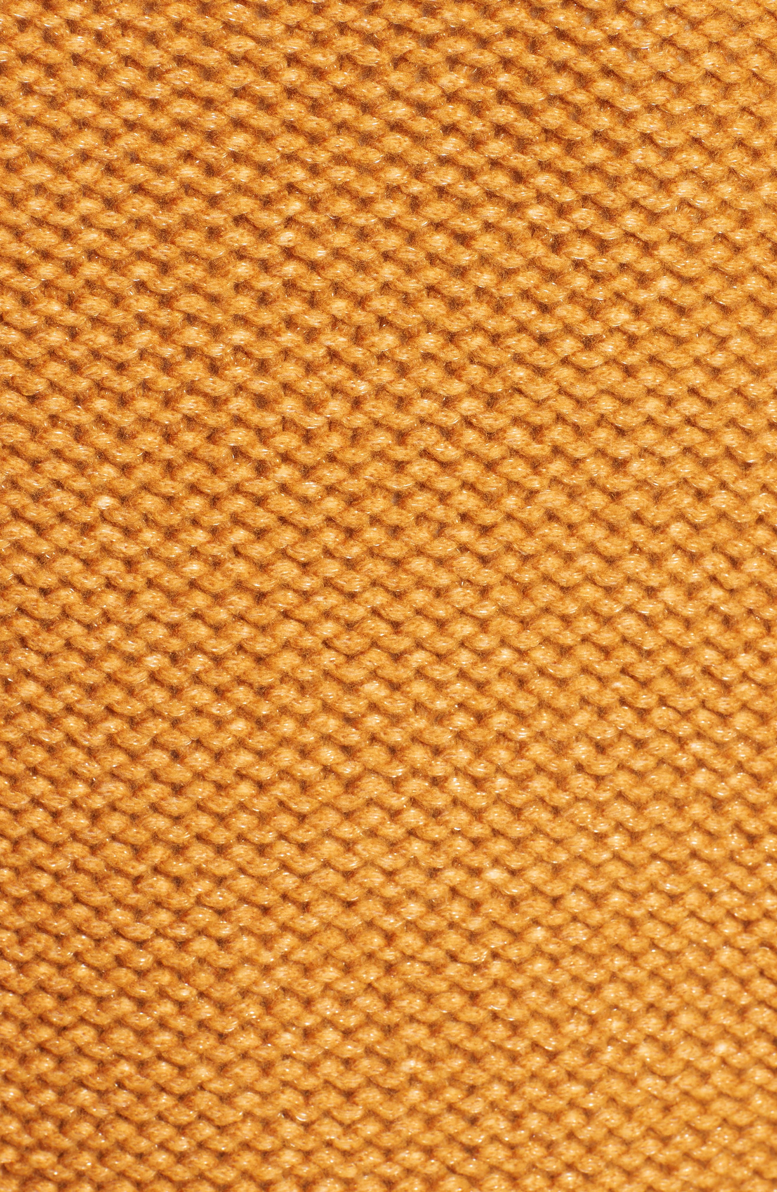 Knit Wool Blend Cardigan,                             Alternate thumbnail 3, color,                             Amber