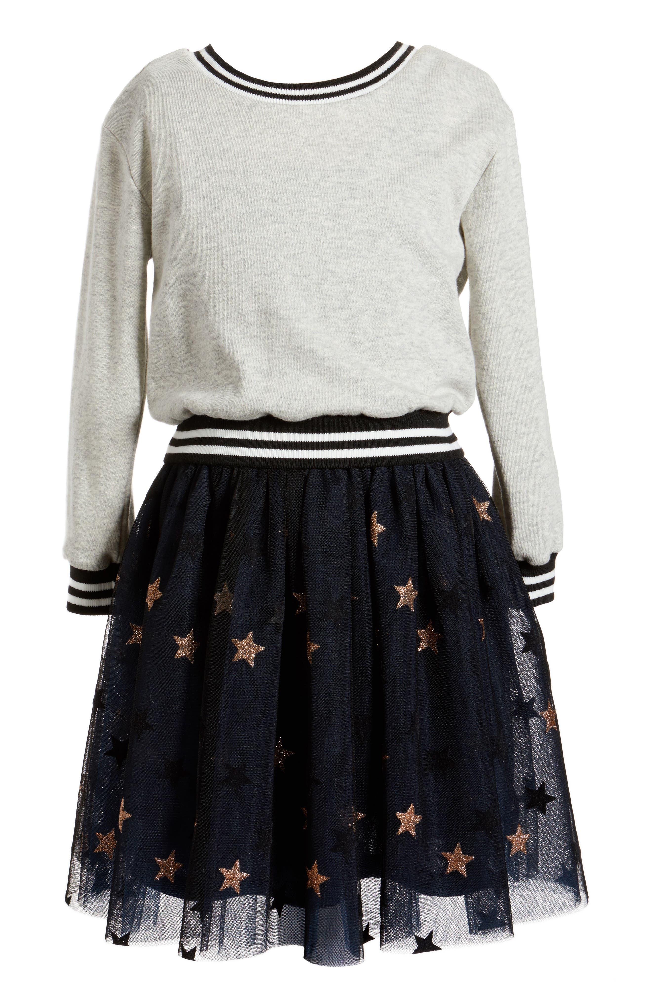 Truly Me Glitter Star Tulle Dress (Toddler Girls, Little Girls & Big Girls)