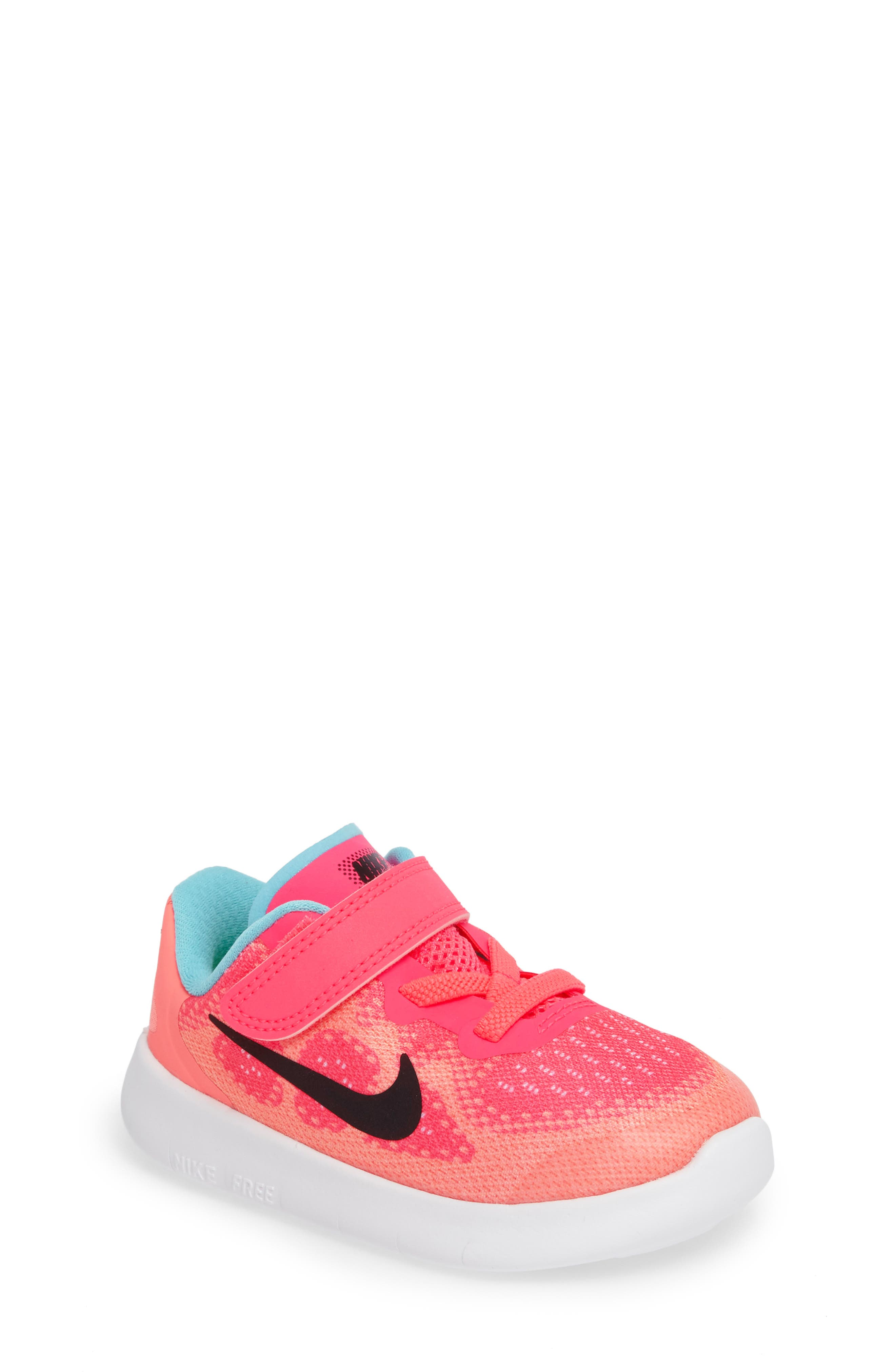 Nike Free Run 2017 Sneaker (Baby, Walker, Toddler & Little Kid)