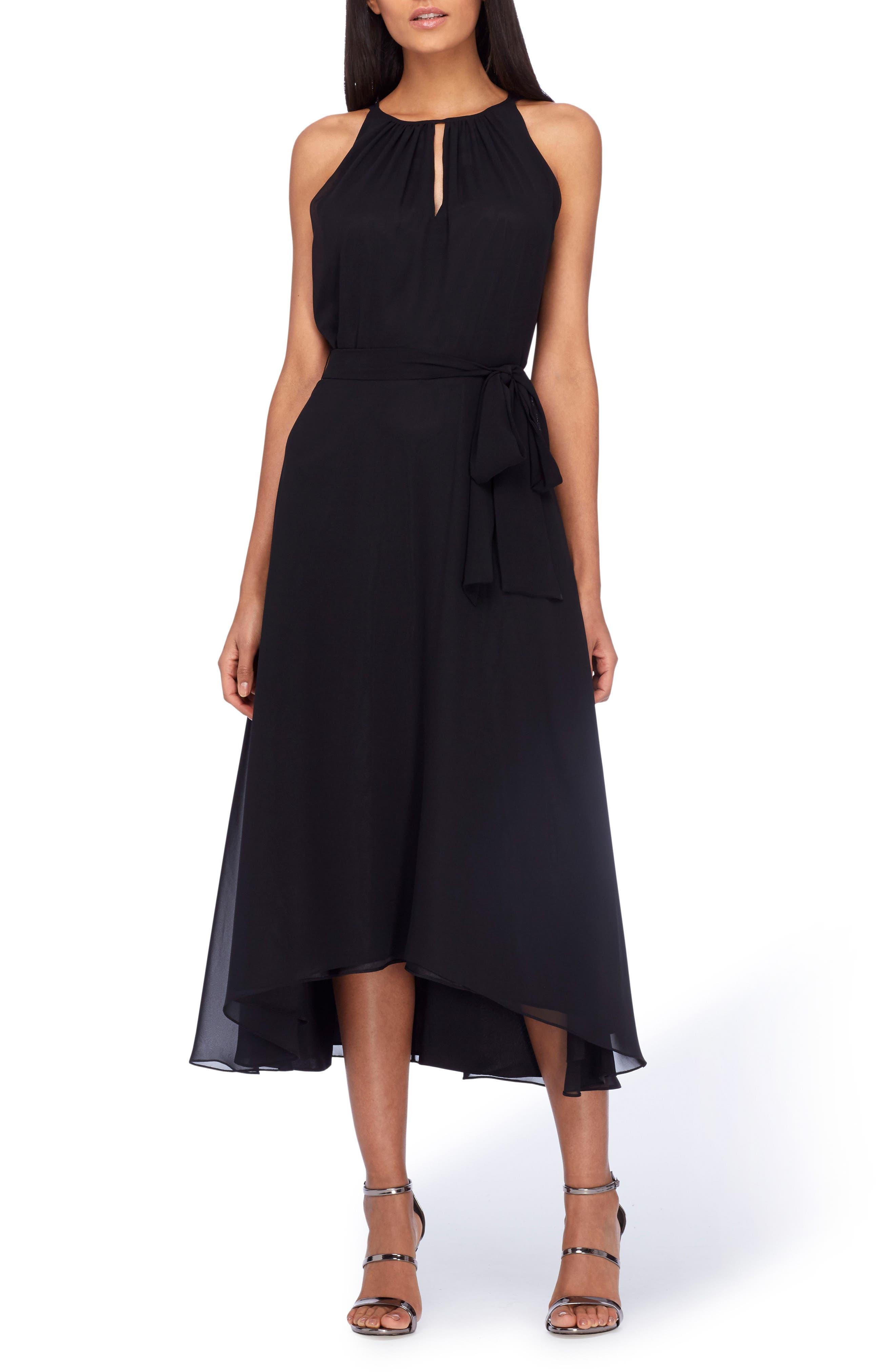 Tahari Belted Midi Dress