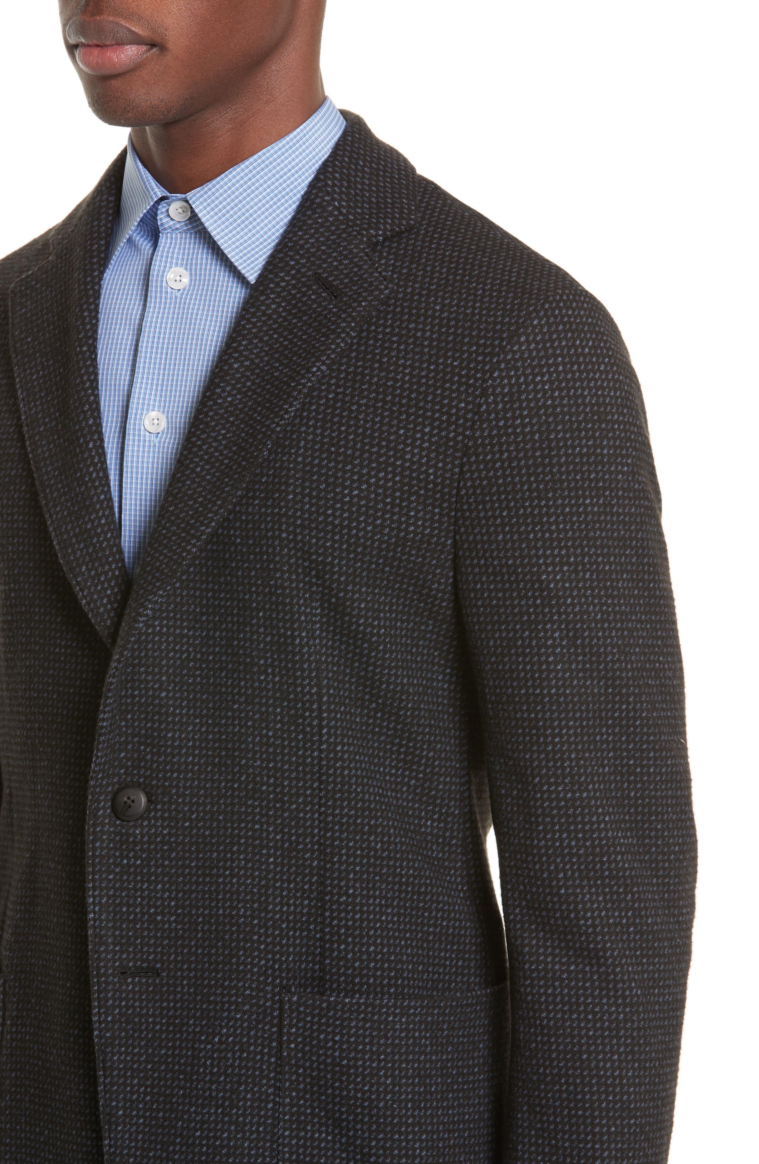 Alternate Image 4  - Emporio Armani Techno Jersey Jacket
