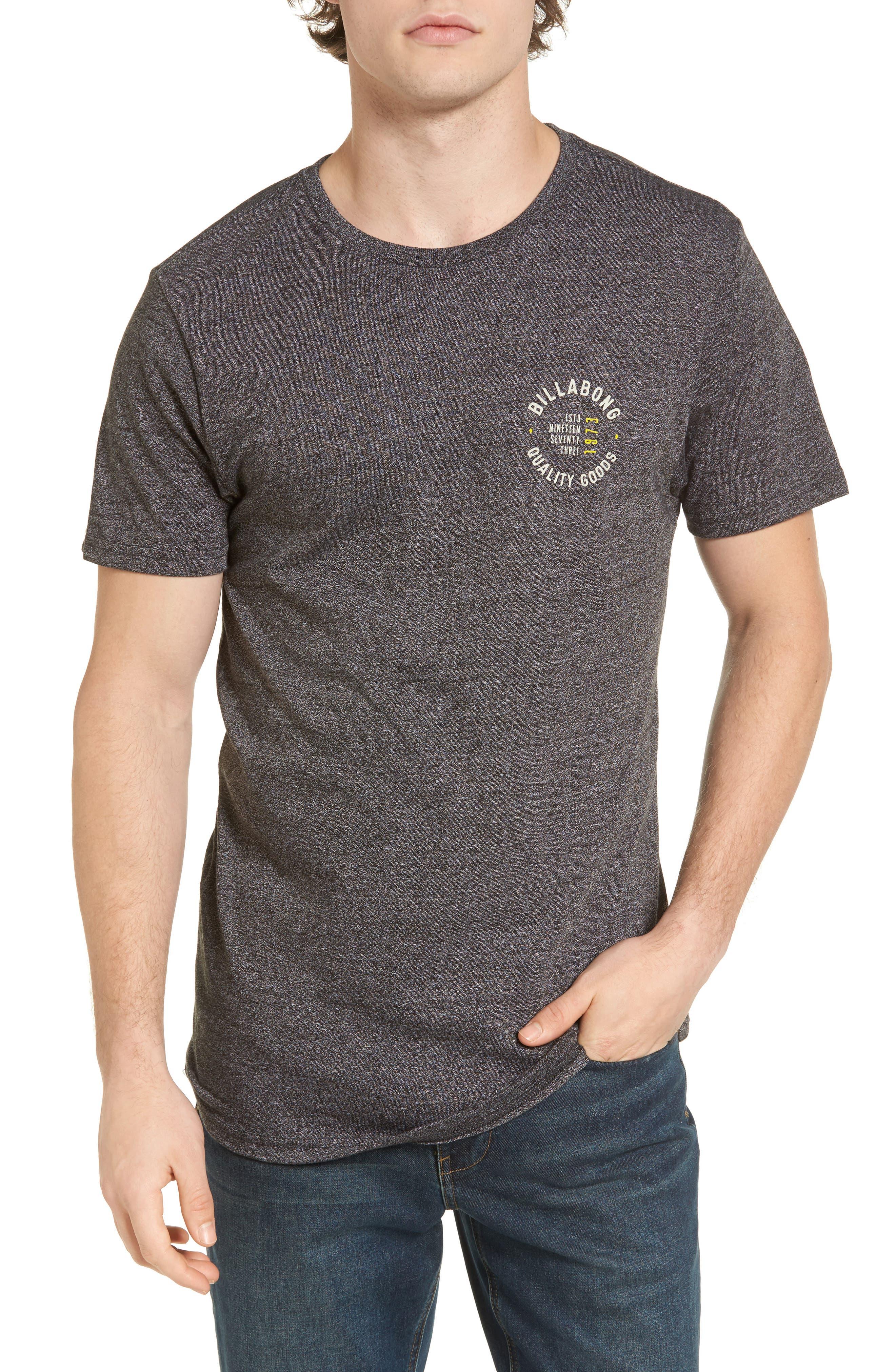Wallace T-Shirt,                         Main,                         color, Black