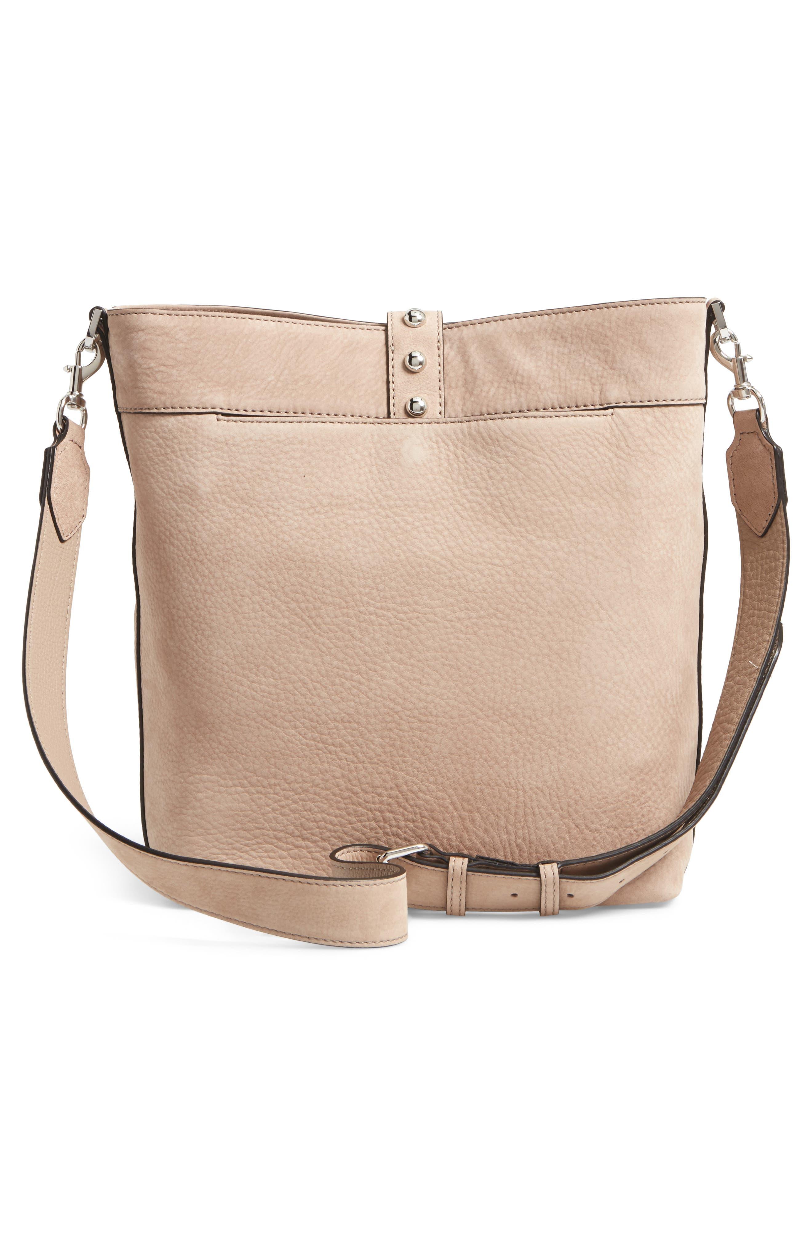 Alternate Image 3  - Rebecca Minkoff Rose Leather Bucket Bag