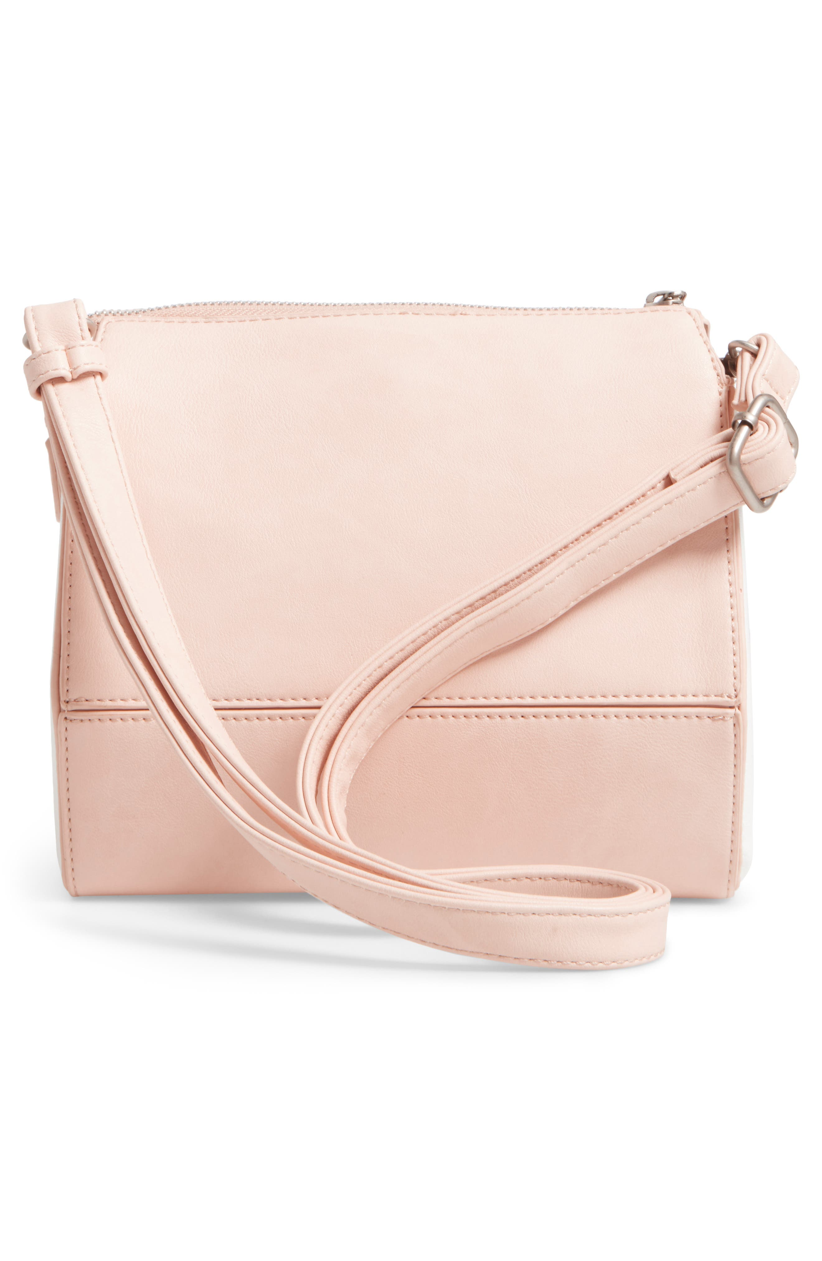 Alternate Image 2  - Pixie Mood Faux Leather Crossbody Bag