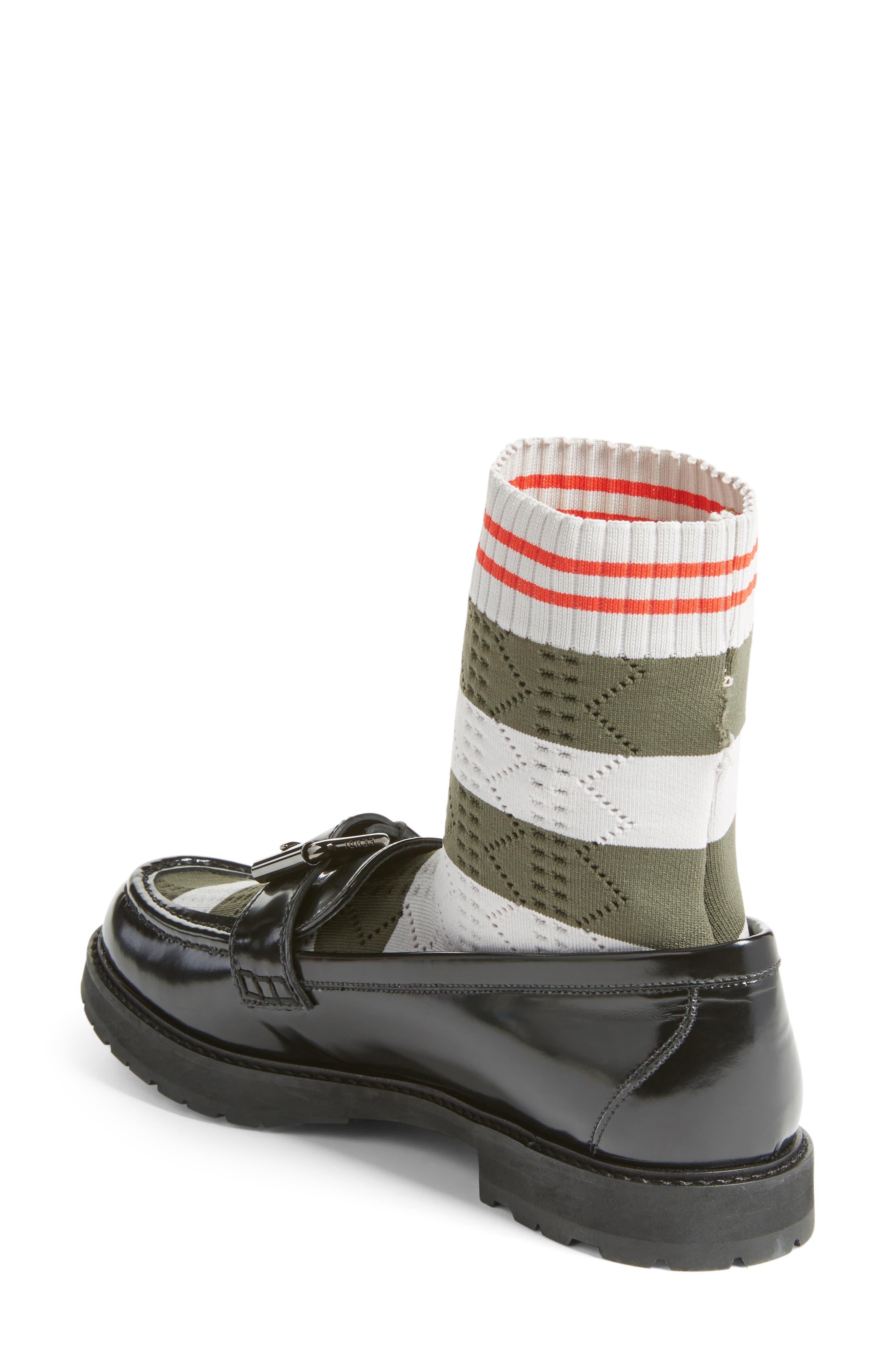 Alternate Image 2  - Fendi Marie Antoinette Sock Loafer (Women)