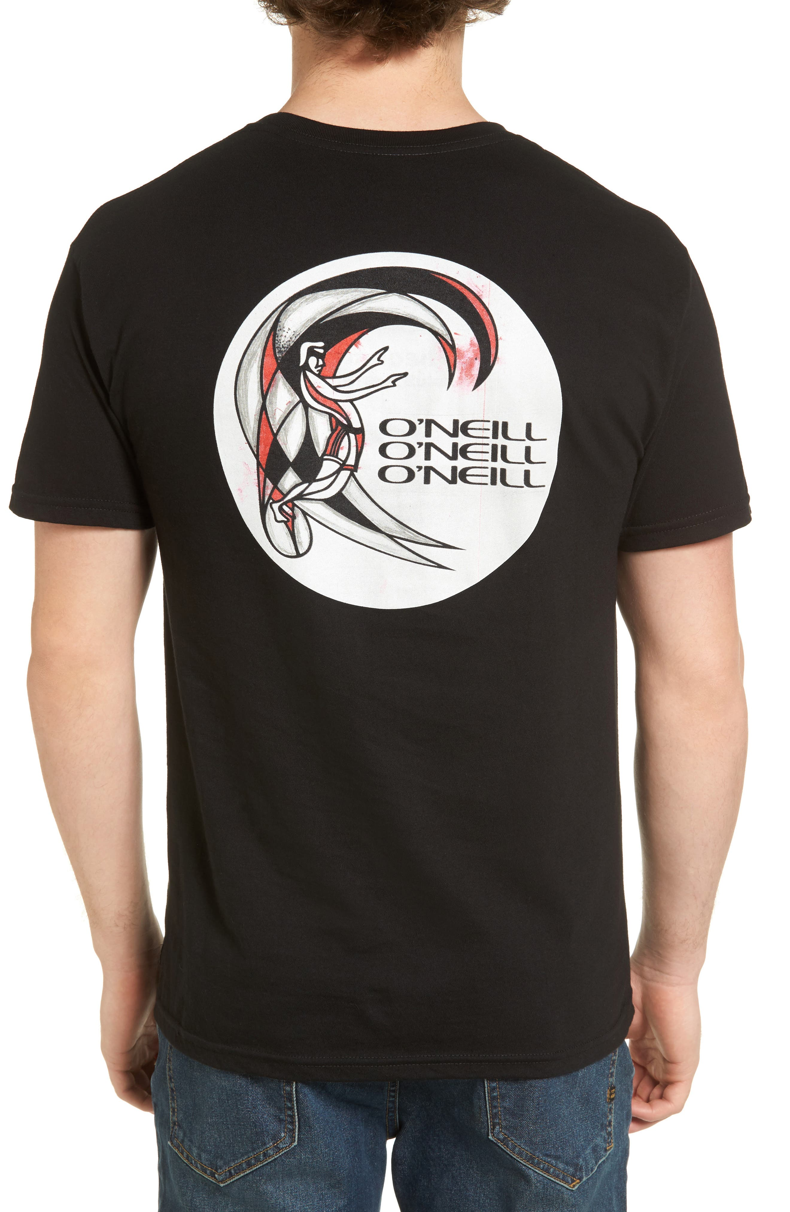 Alternate Image 2  - O'Neill Rager Logo Pocket T-Shirt