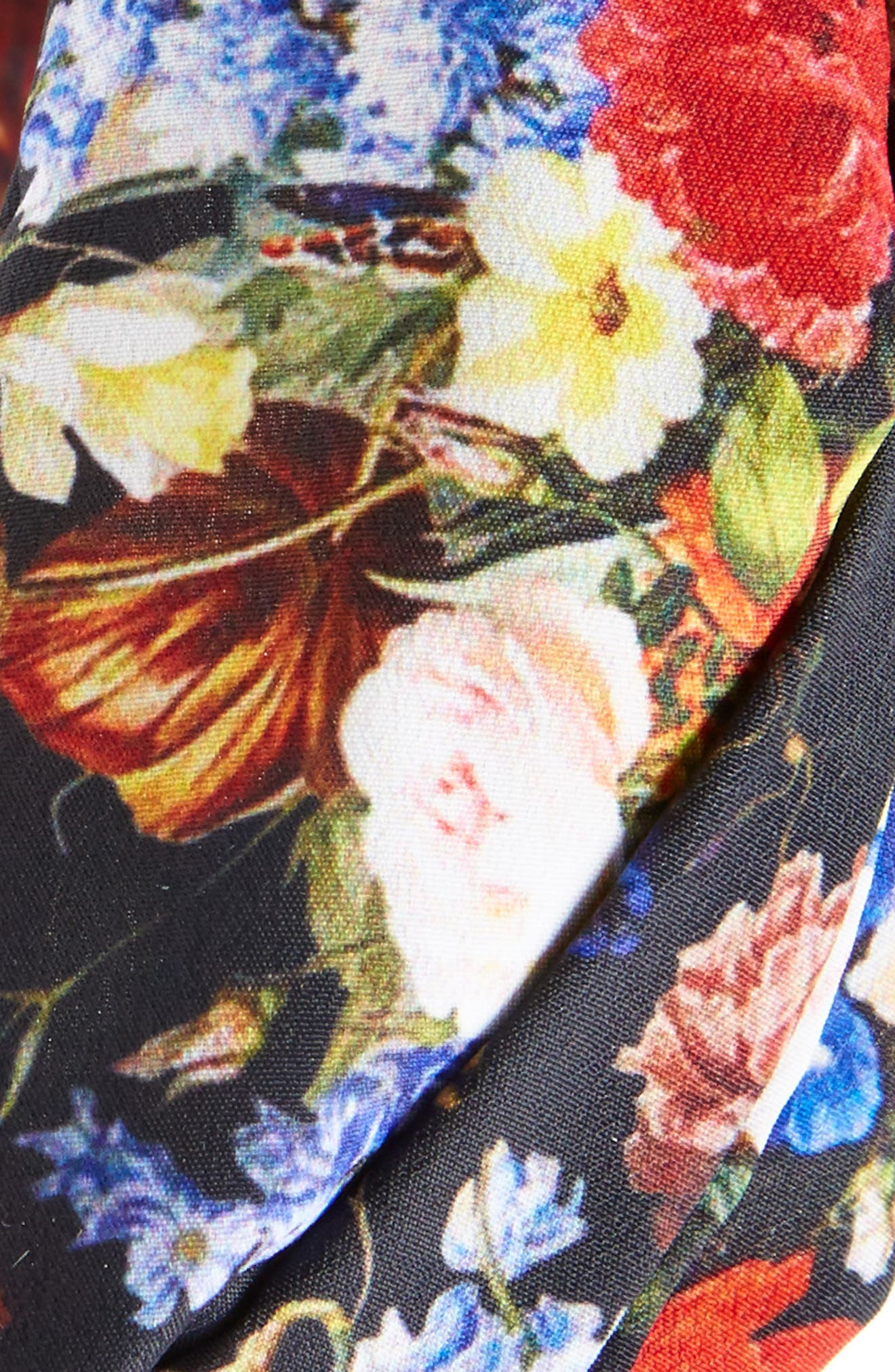 Alternate Image 2  - Cara Floral Knot Head Wrap