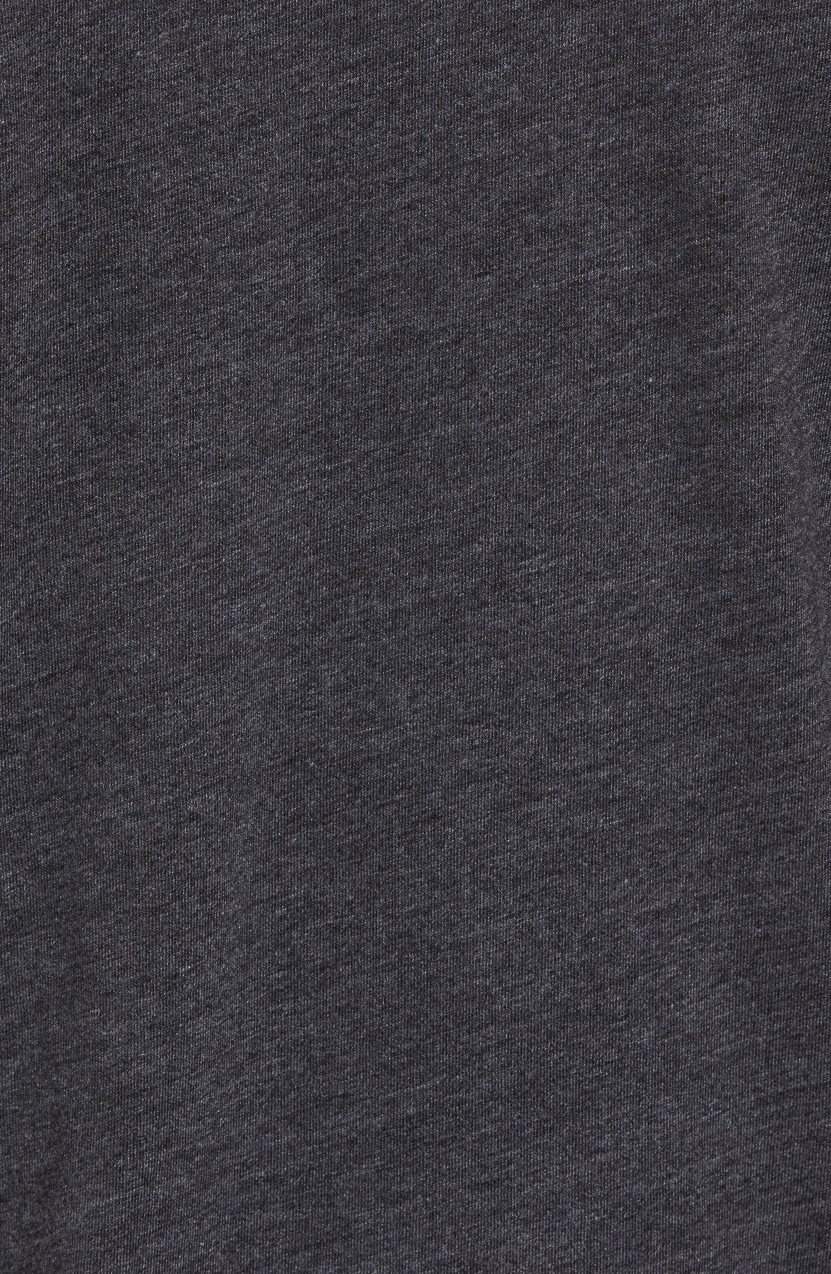 NSW TB Legacy T-Shirt,                             Alternate thumbnail 5, color,                             Birch Heather/ Black/ Sail