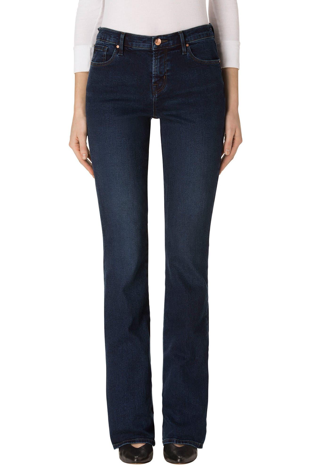 Litah Bootcut Jeans,                         Main,                         color, Throne