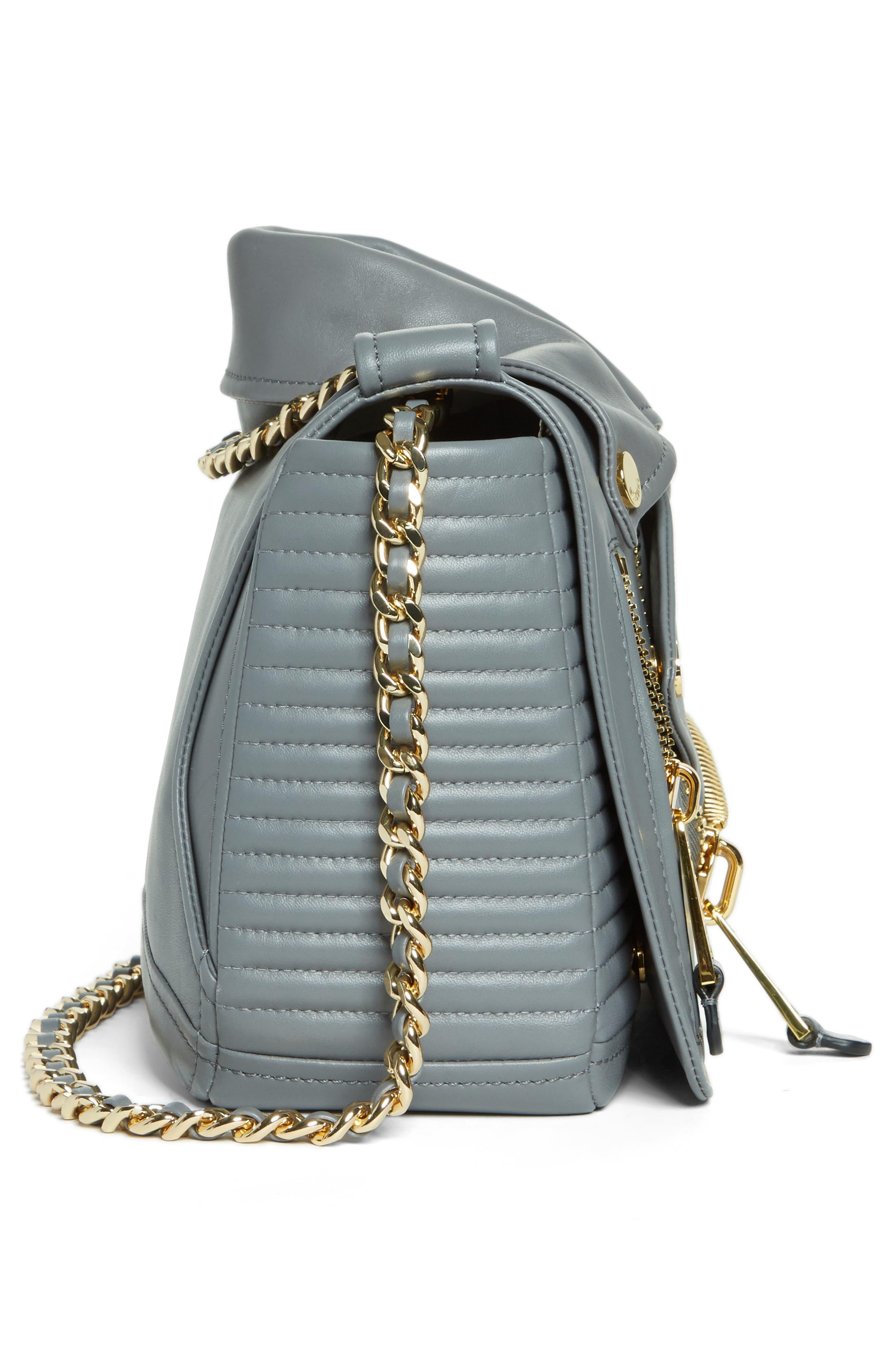 Alternate Image 5  - Moschino 'Biker Jacket' Shoulder Bag