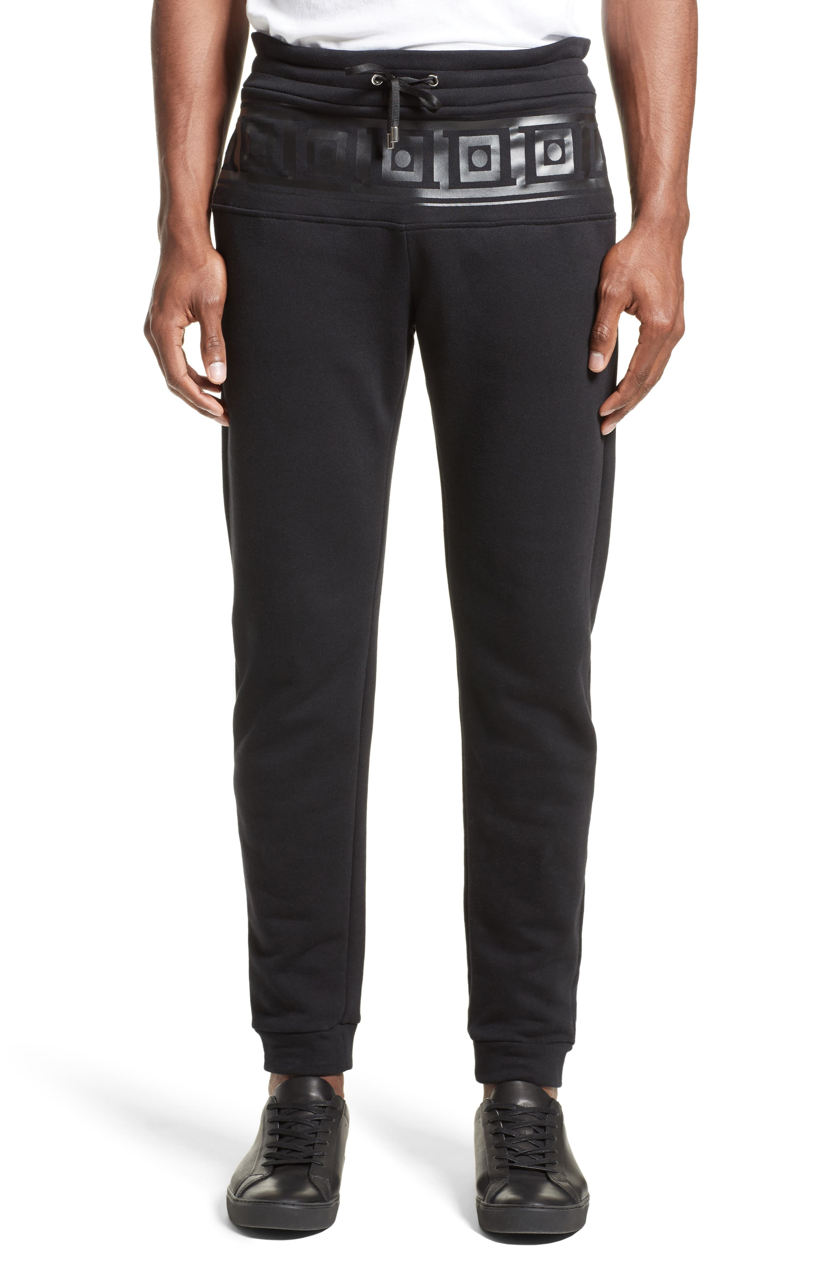 Versace Collection Frame Print Sweatpants
