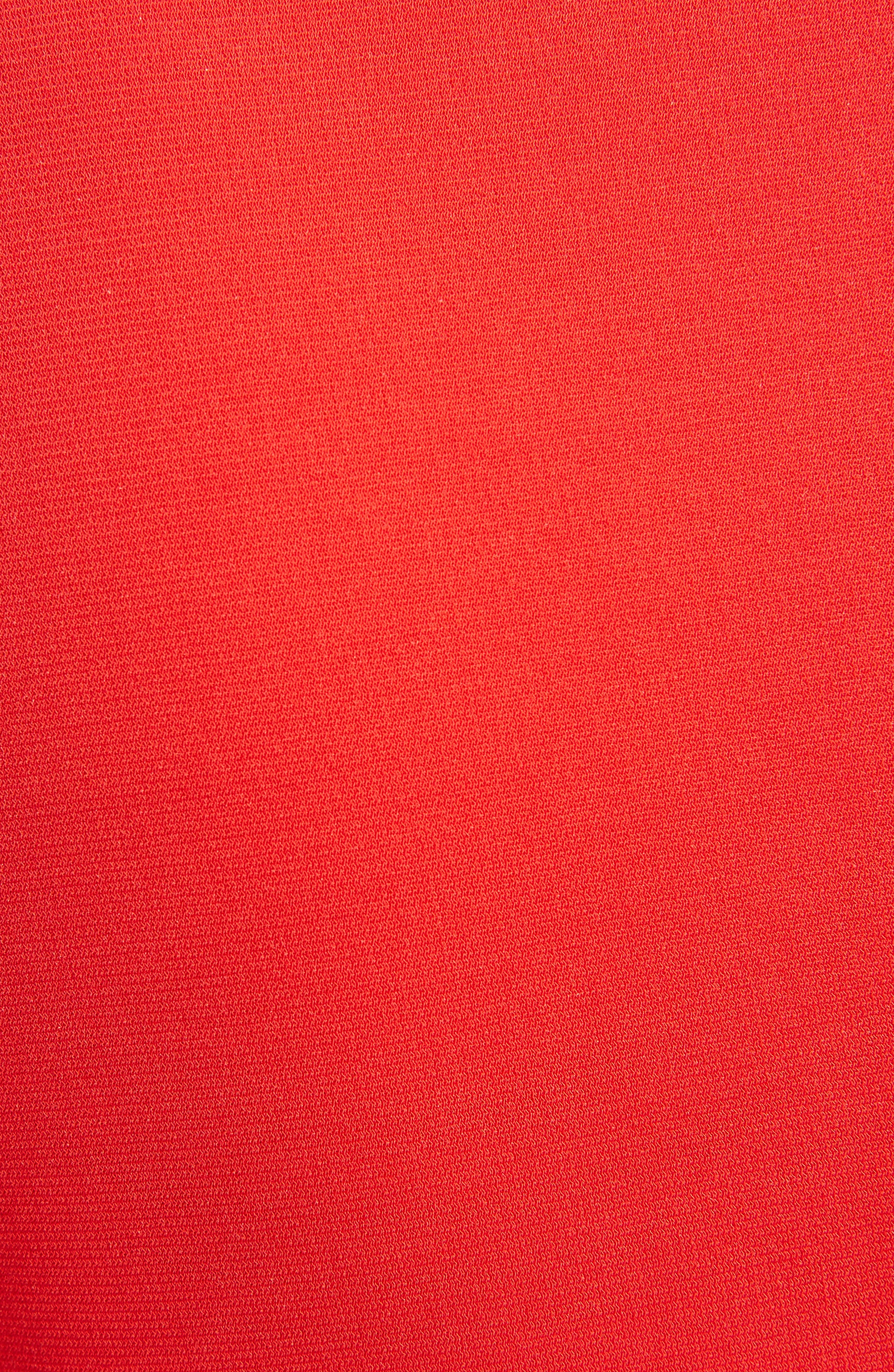Alternate Image 5  - Givenchy Jersey Turtleneck Tulip Hem Dress