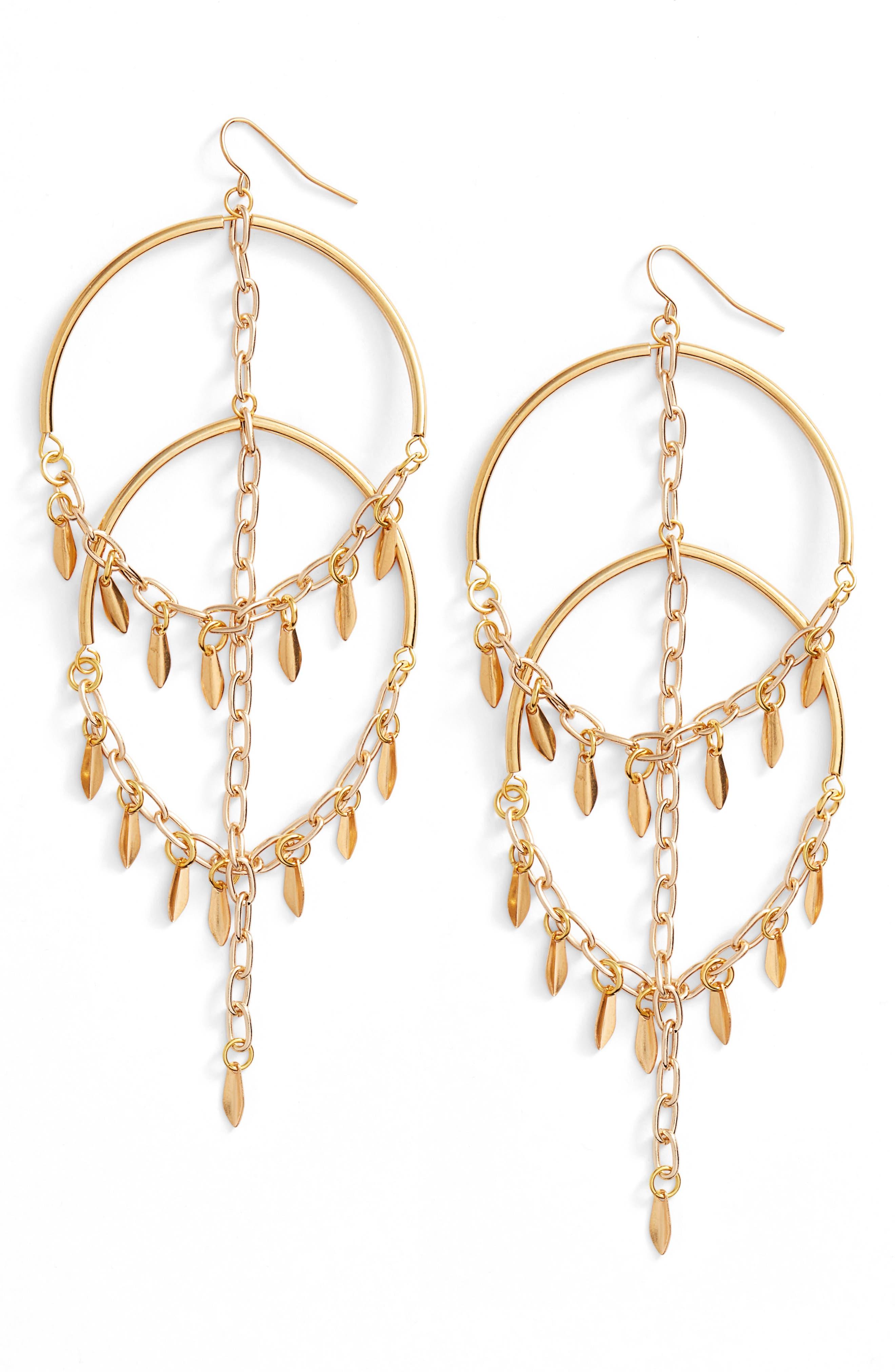 VANESSA MOONEY Cannes Chandelier Earrings