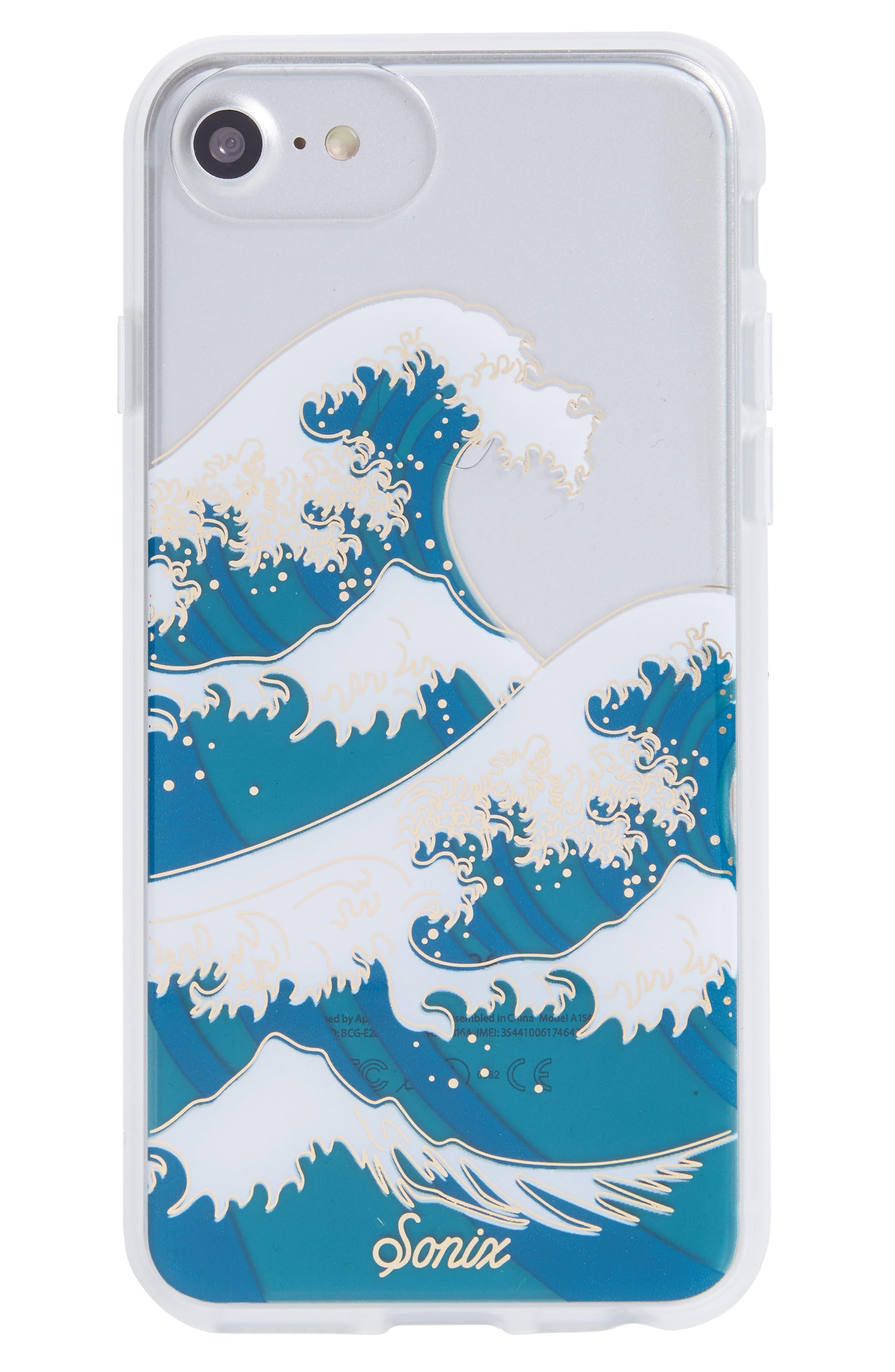 Sonix Tokyo Wave iPhone 6/6s/7/8 & 6/6s/7/8 Plus Case
