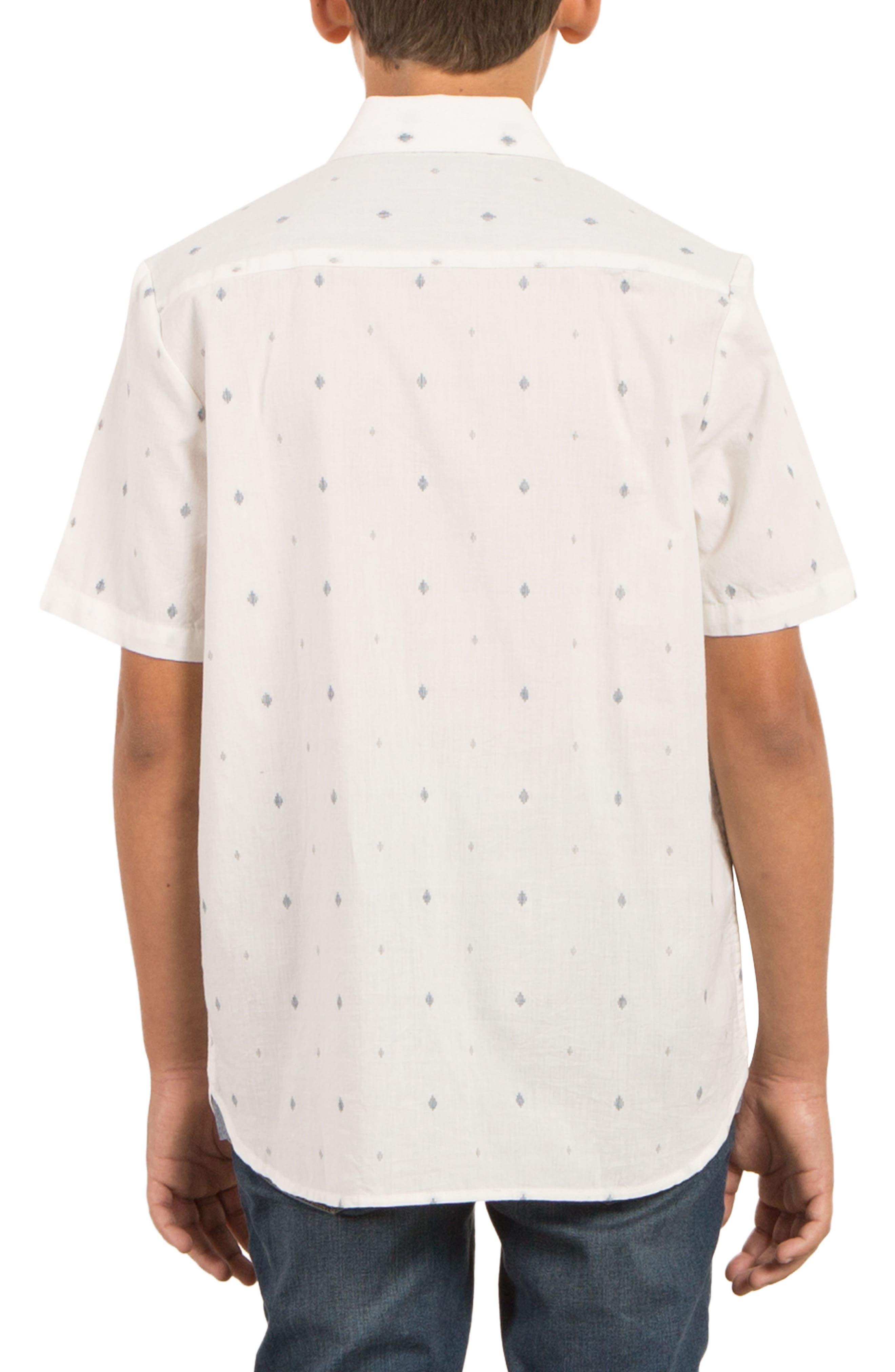 Interlude Print Woven Shirt,                             Alternate thumbnail 2, color,                             Cloud