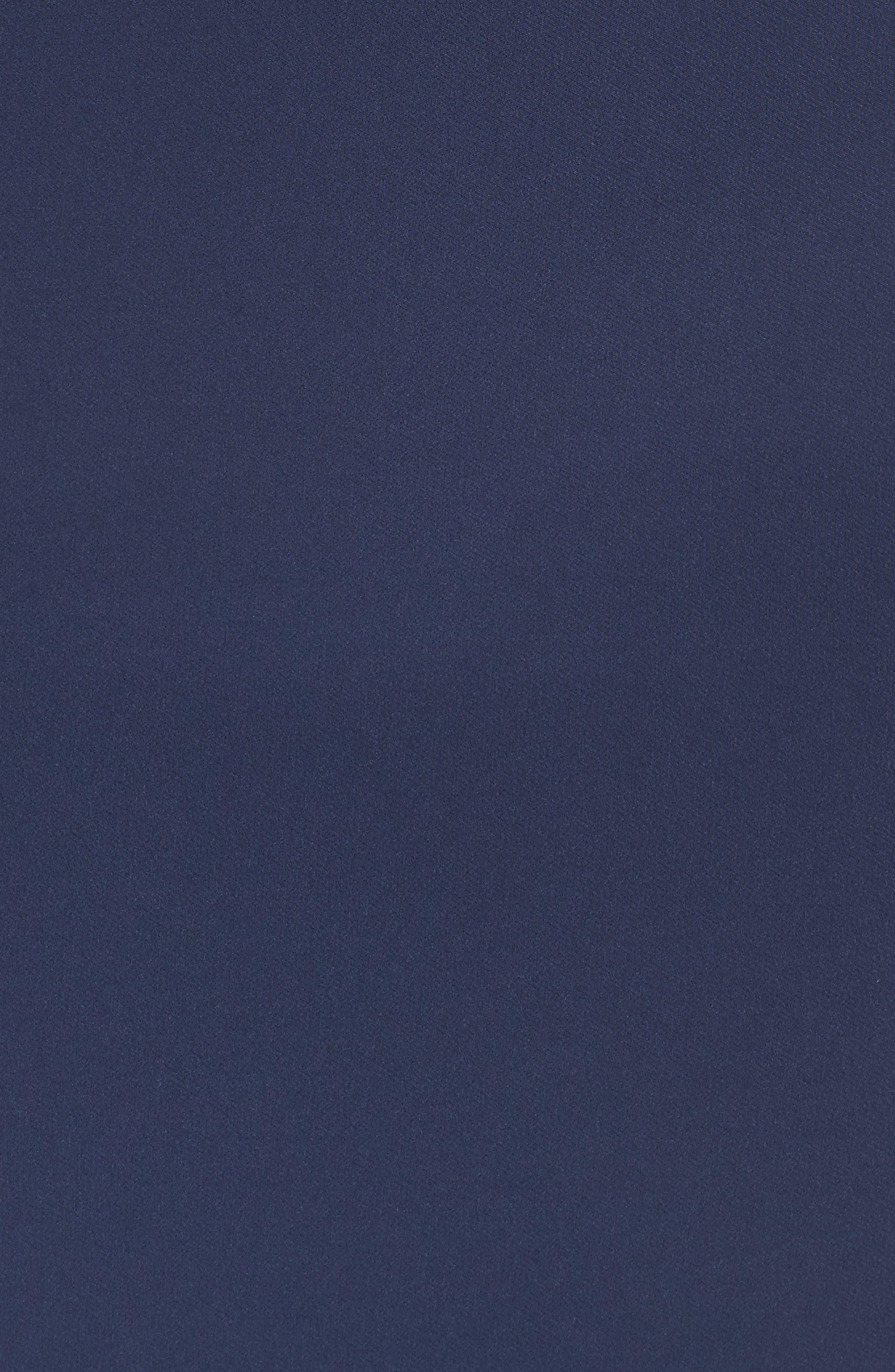 Strapless Ruffle Dress,                             Alternate thumbnail 5, color,                             Navy