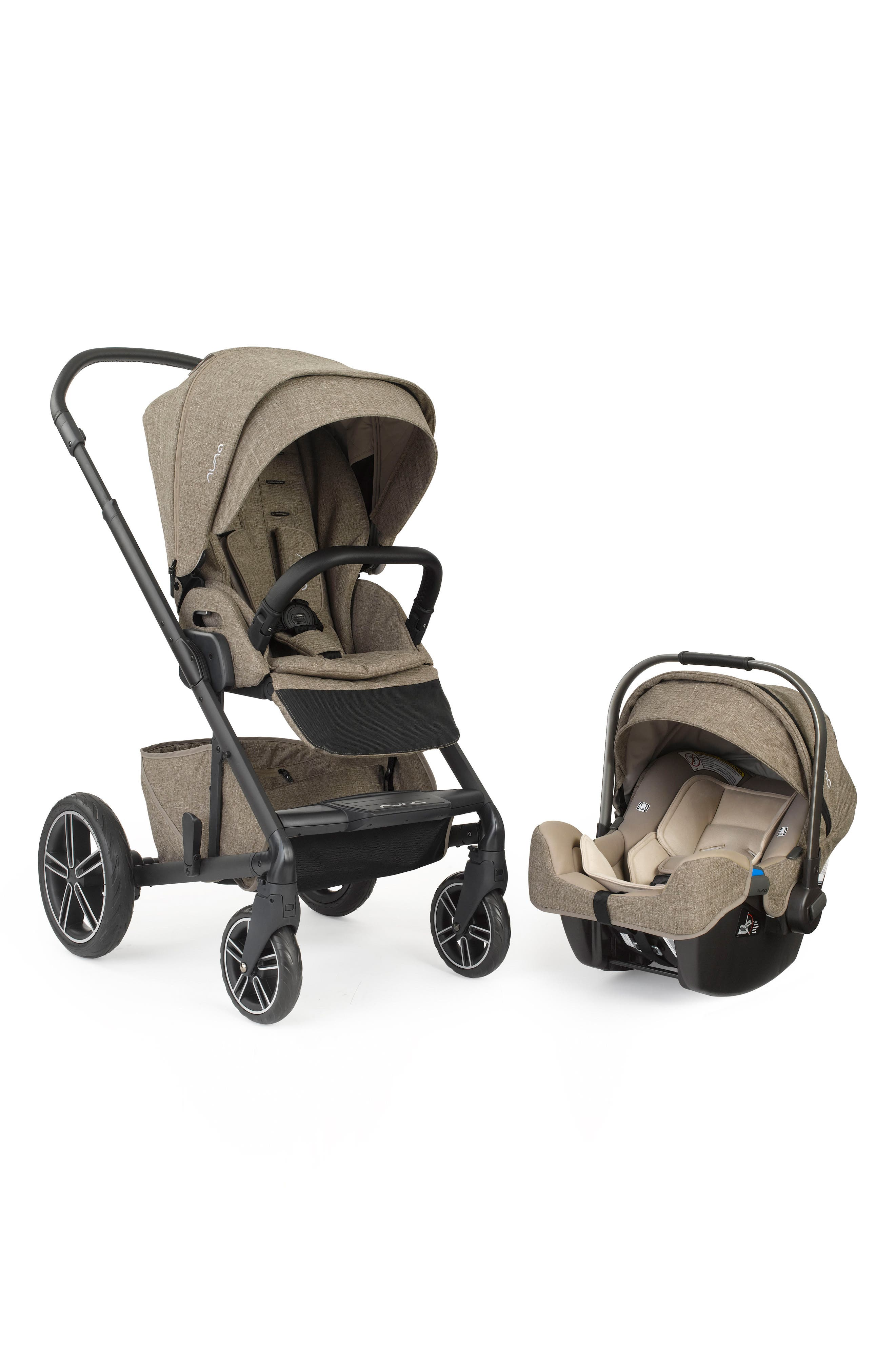 MIXX<sup>™</sup> 2 Stroller System & PIPA<sup>™</sup> Car Seat Set,                         Main,                         color, Latte