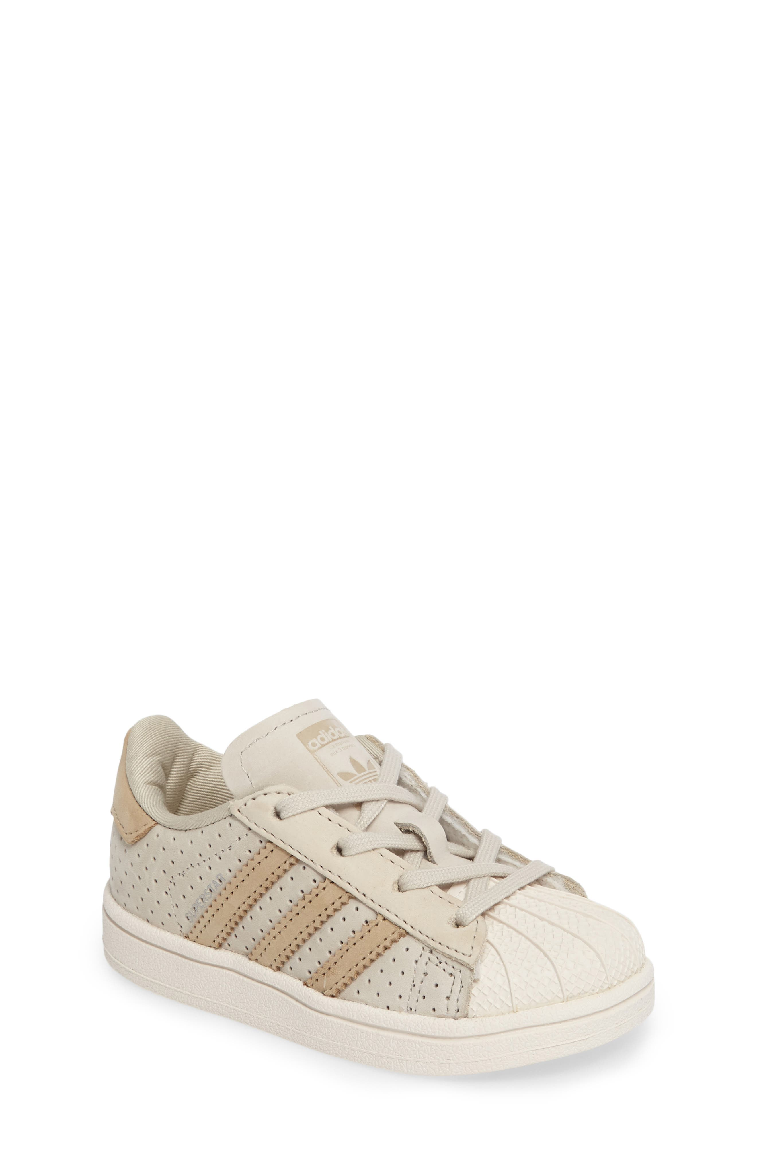 adidas Stan Smith Fashion I Perforated Sneaker (Baby, Walker, Toddler \u0026  Little Kid