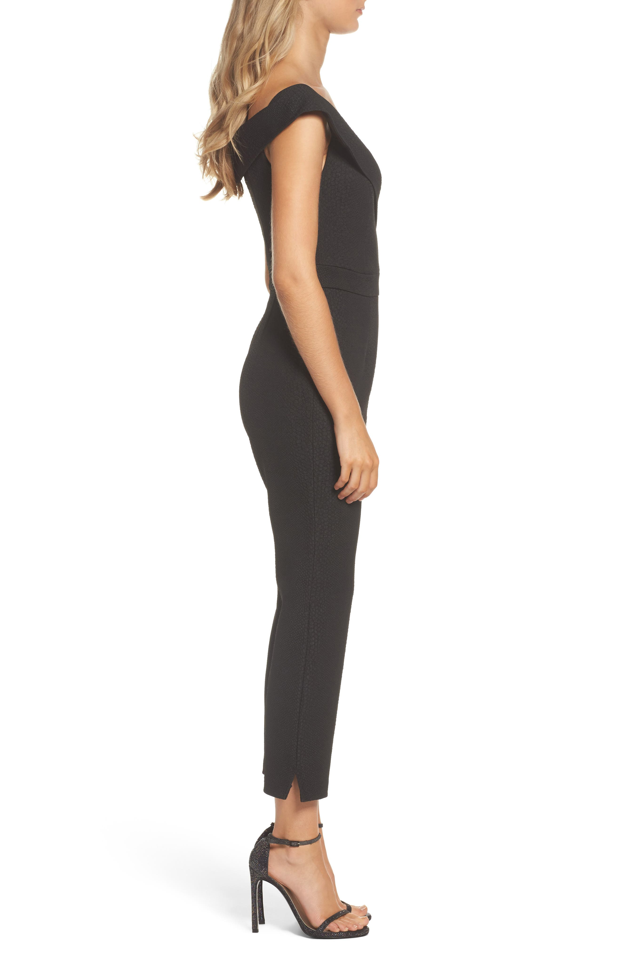 Alternate Image 3  - Bardot Bella Crop Jumpsuit