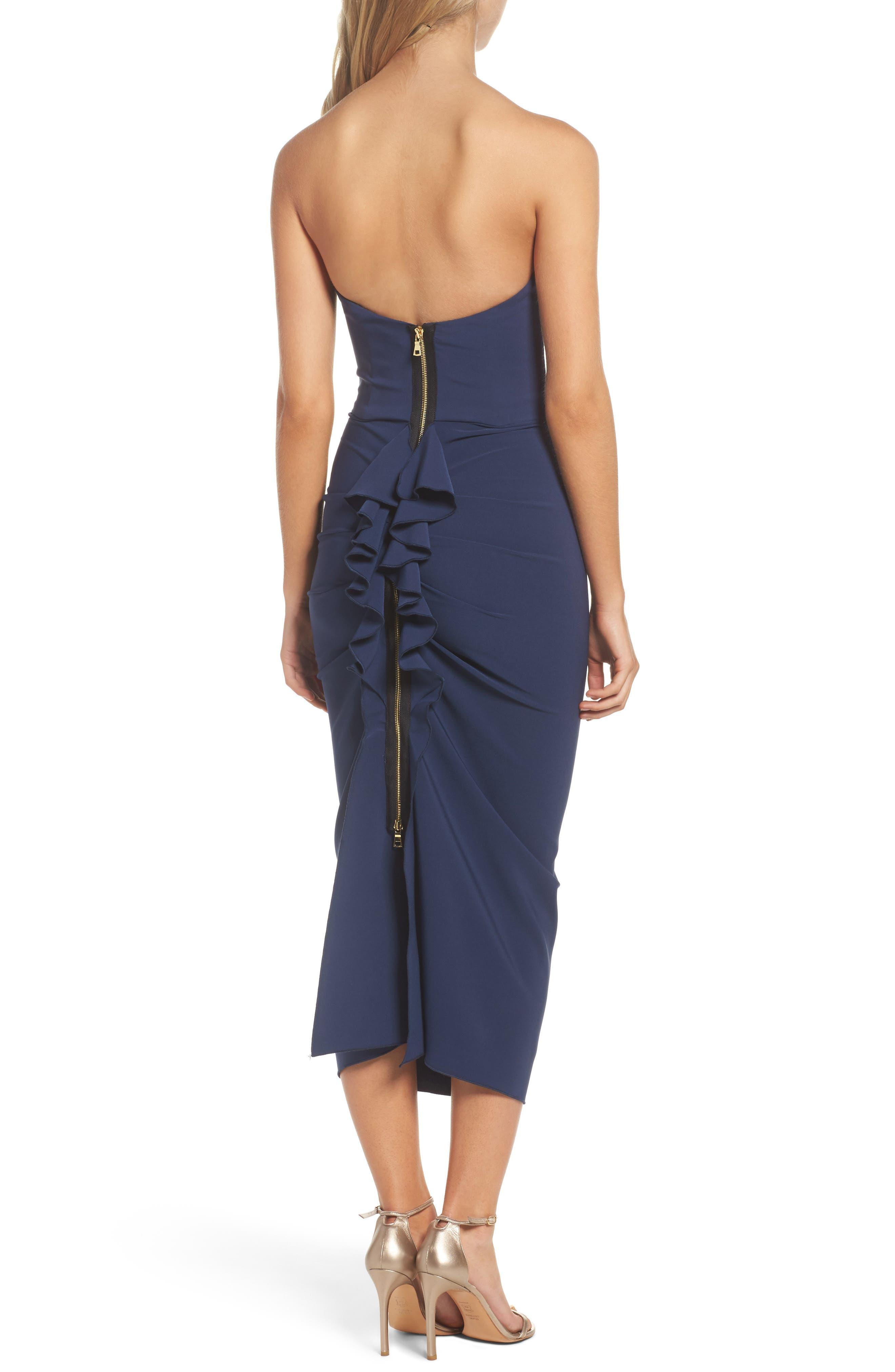 Alternate Image 2  - Maria Bianca Nero Strapless Ruffle Dress