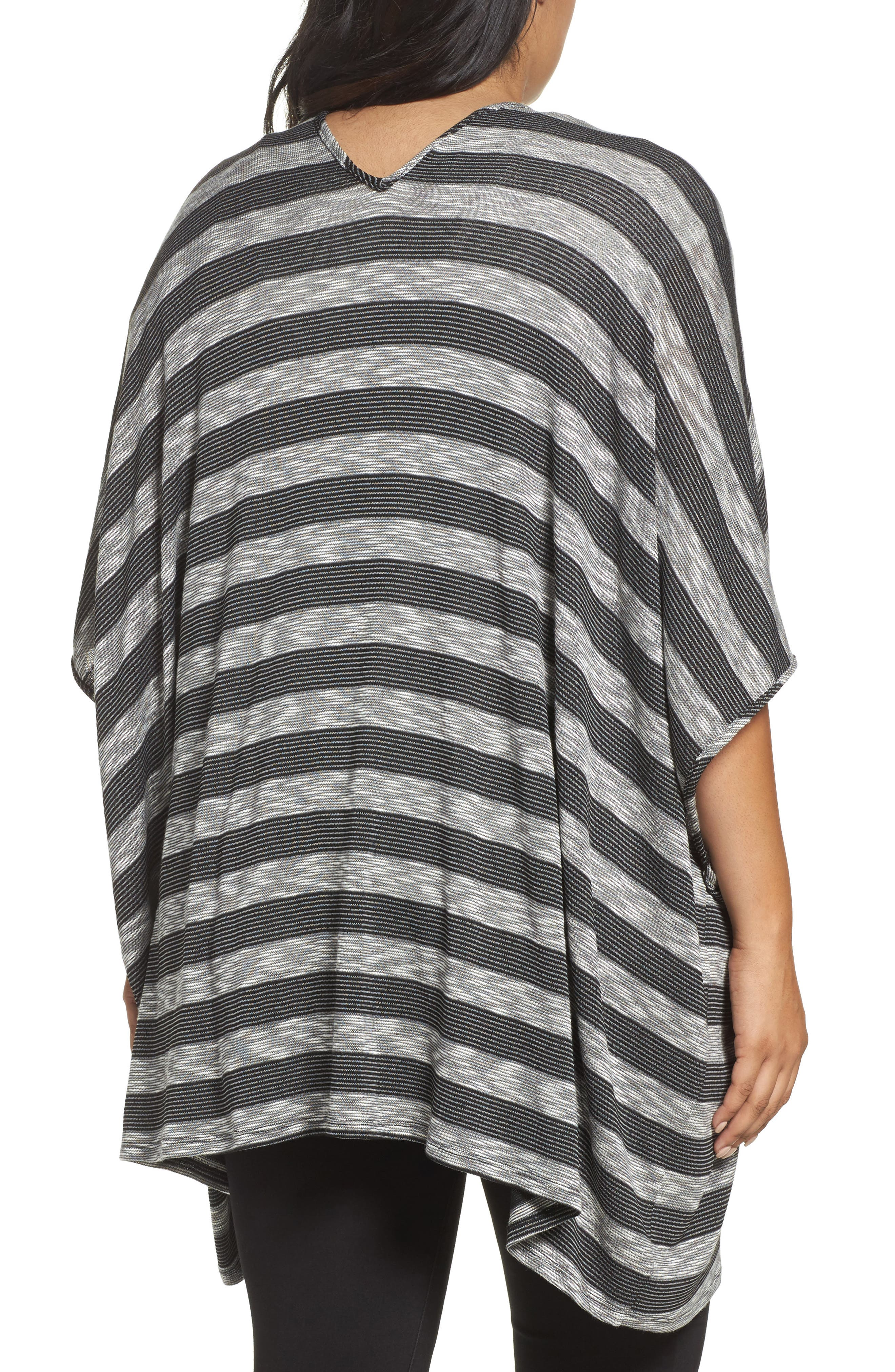 Alternate Image 2  - Tart Alania Stripe Cardigan (Plus Size)